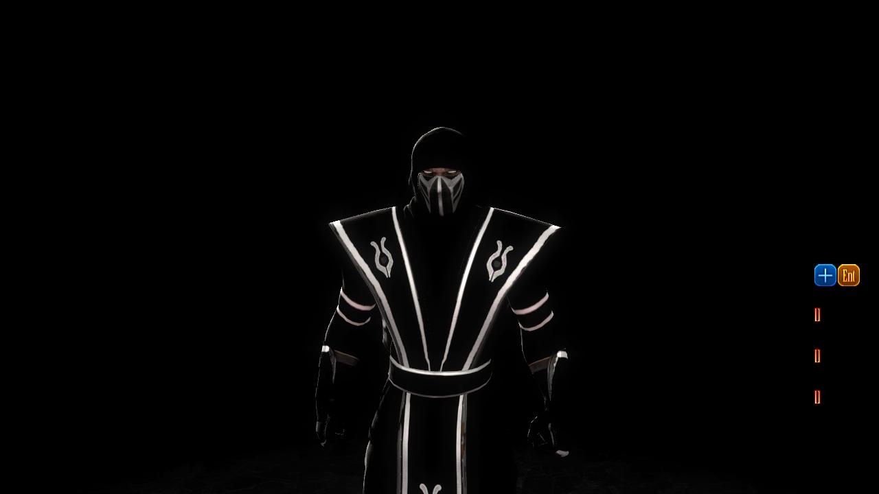 Смоук - Mortal Kombat (2011) Боец, Смоук