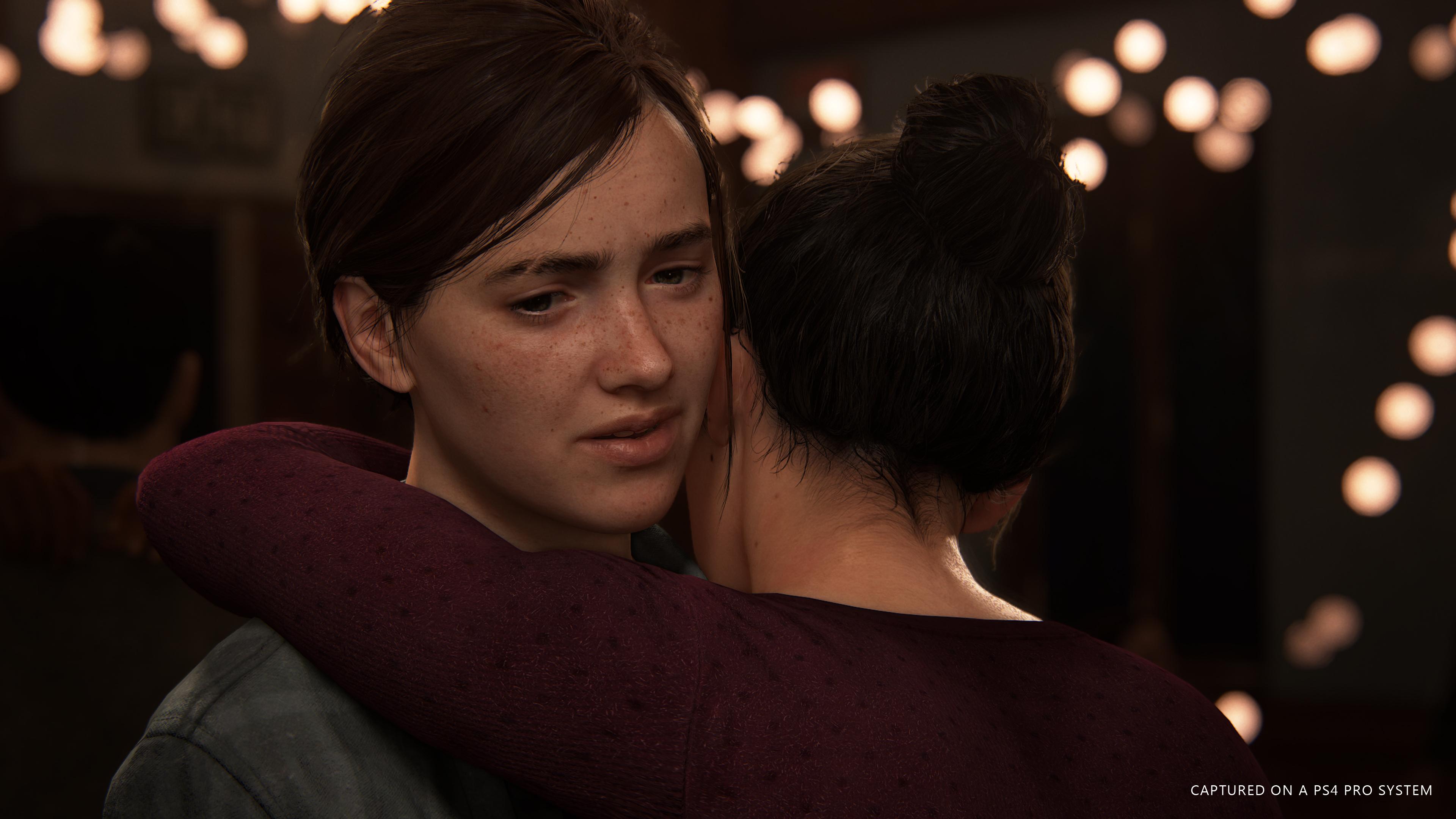 Элли и Дина - Last of Us: Part 2, the 4K