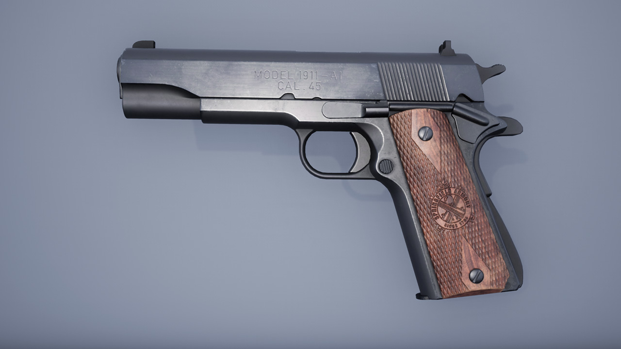 Springfield 1911 - Will To Live Online Пистолет