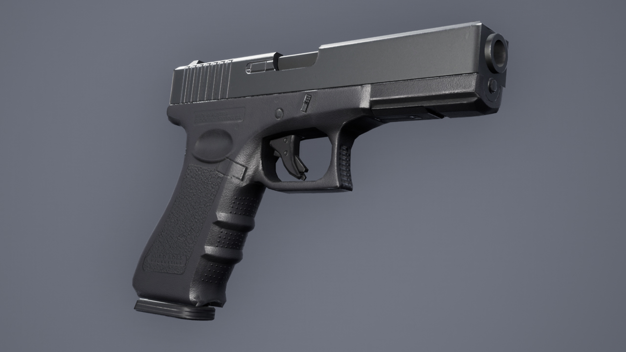 Glock 17. - Will To Live Online Пистолет