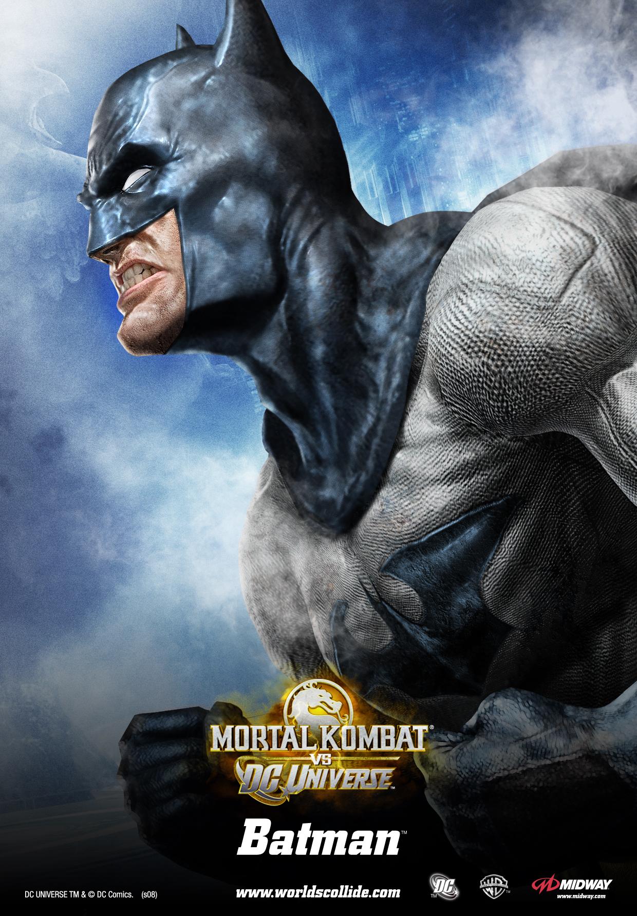 Бэтмен - Mortal Kombat vs. DC Universe Арт