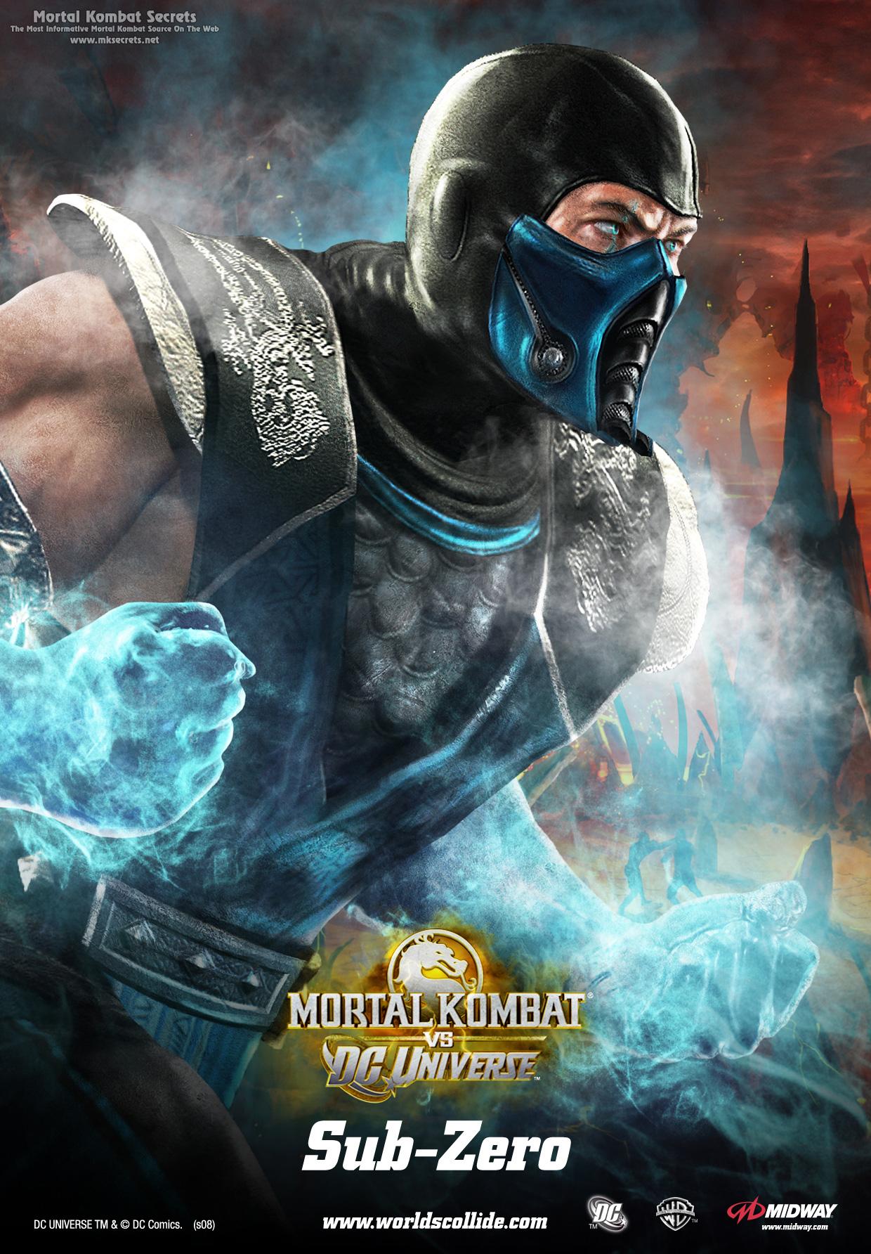 Саб-Зиро - Mortal Kombat vs. DC Universe Арт