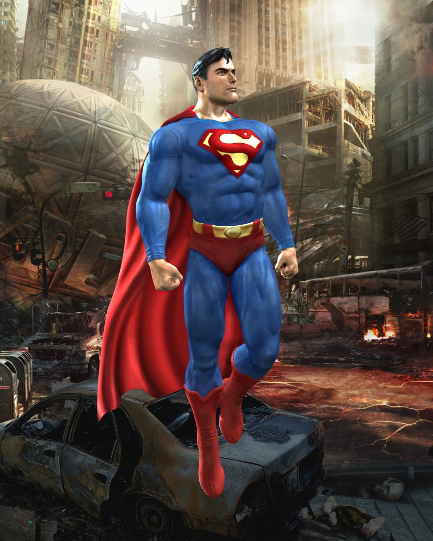 Супермен - Mortal Kombat vs. DC Universe