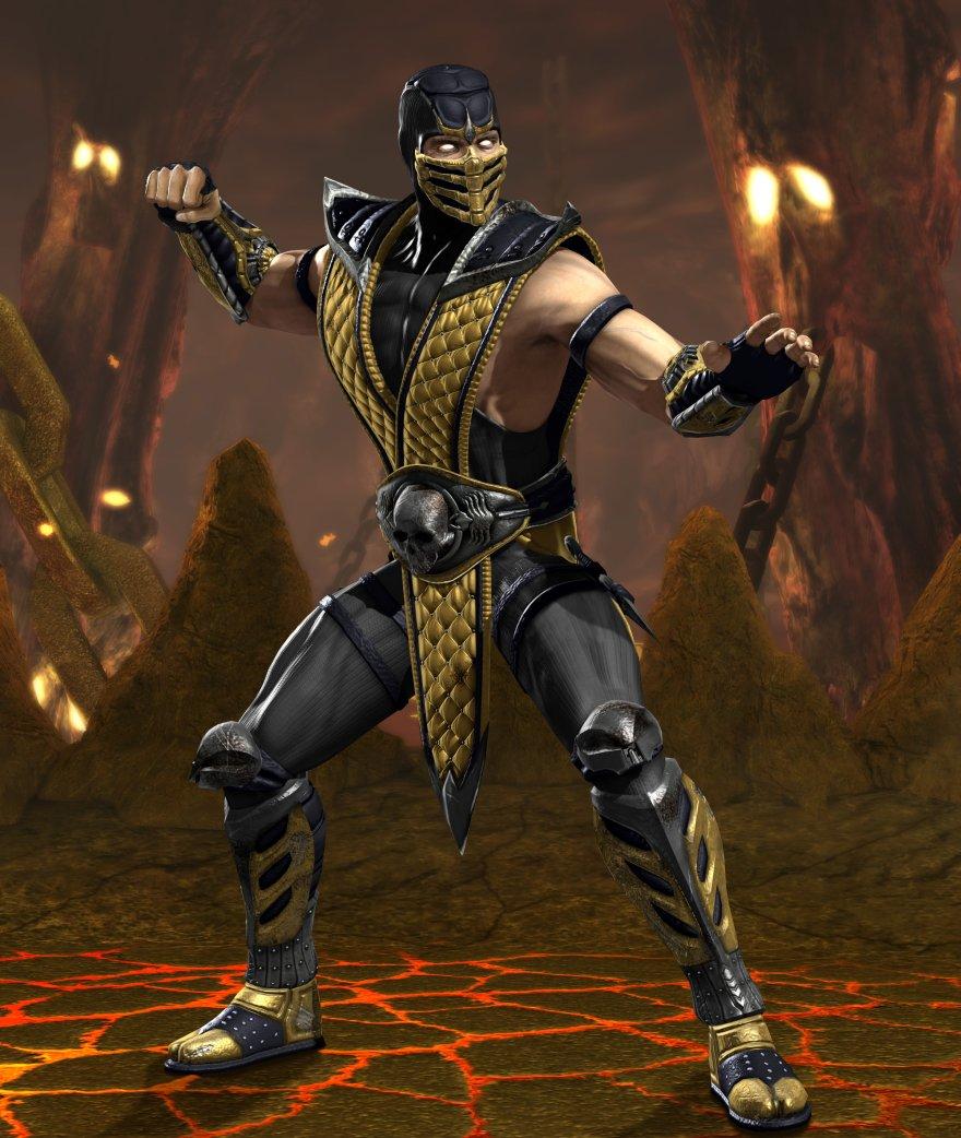 Скорпион - Mortal Kombat vs. DC Universe