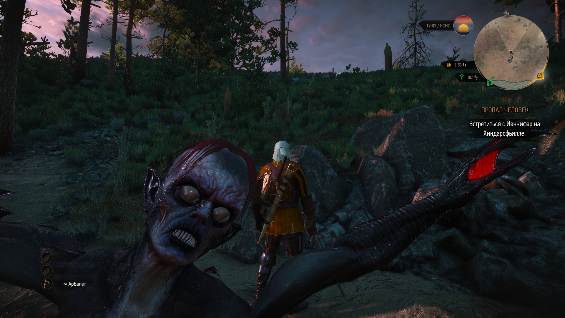 селфи с ведьмаком - Witcher 3: Wild Hunt, the