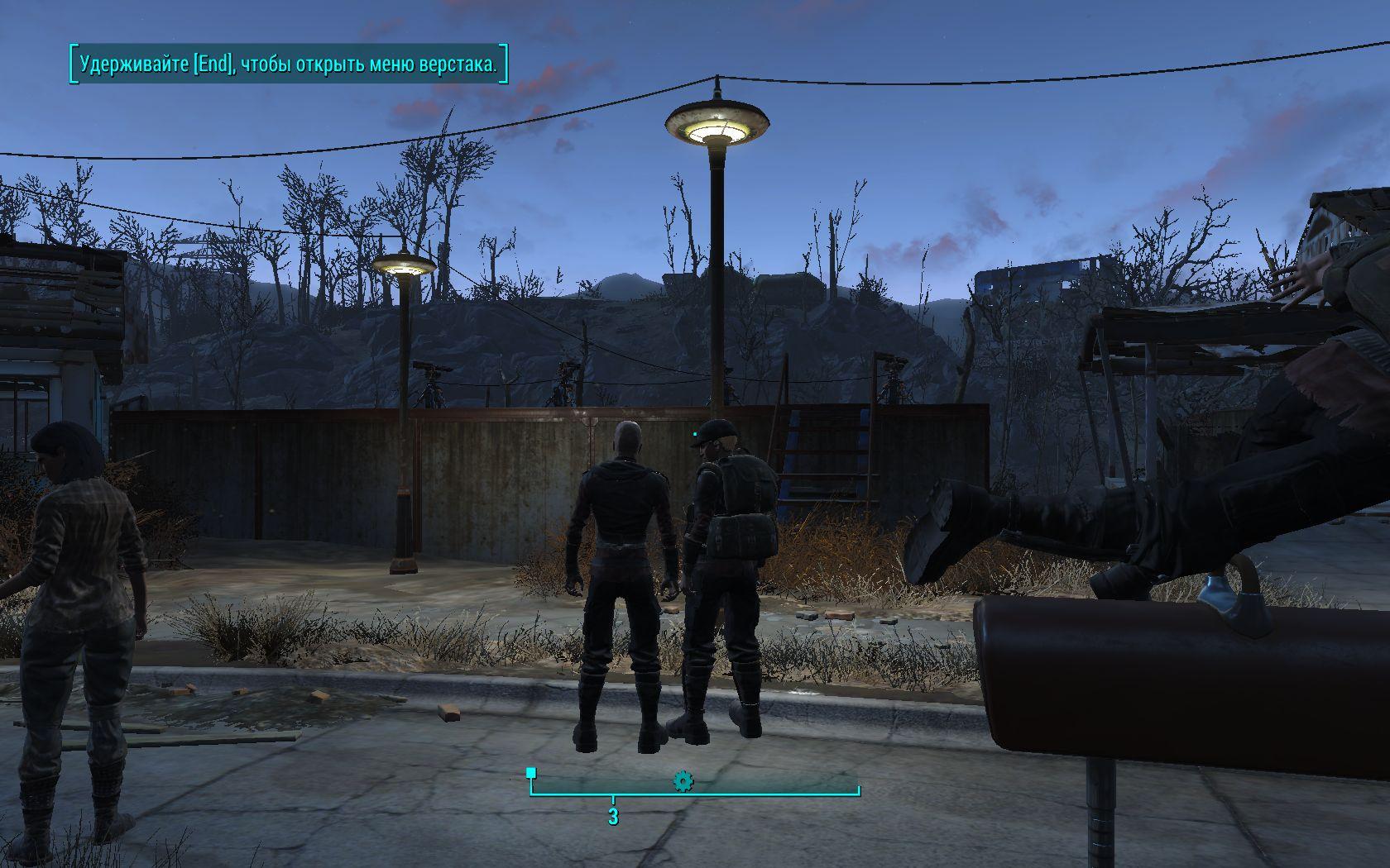 Маккриди и Хенкок секретничают - Fallout 4