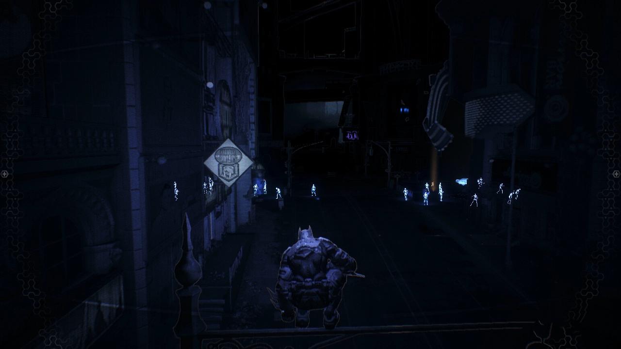 Обычный день Бэтмена в Готэме - Batman: Arkham Knight
