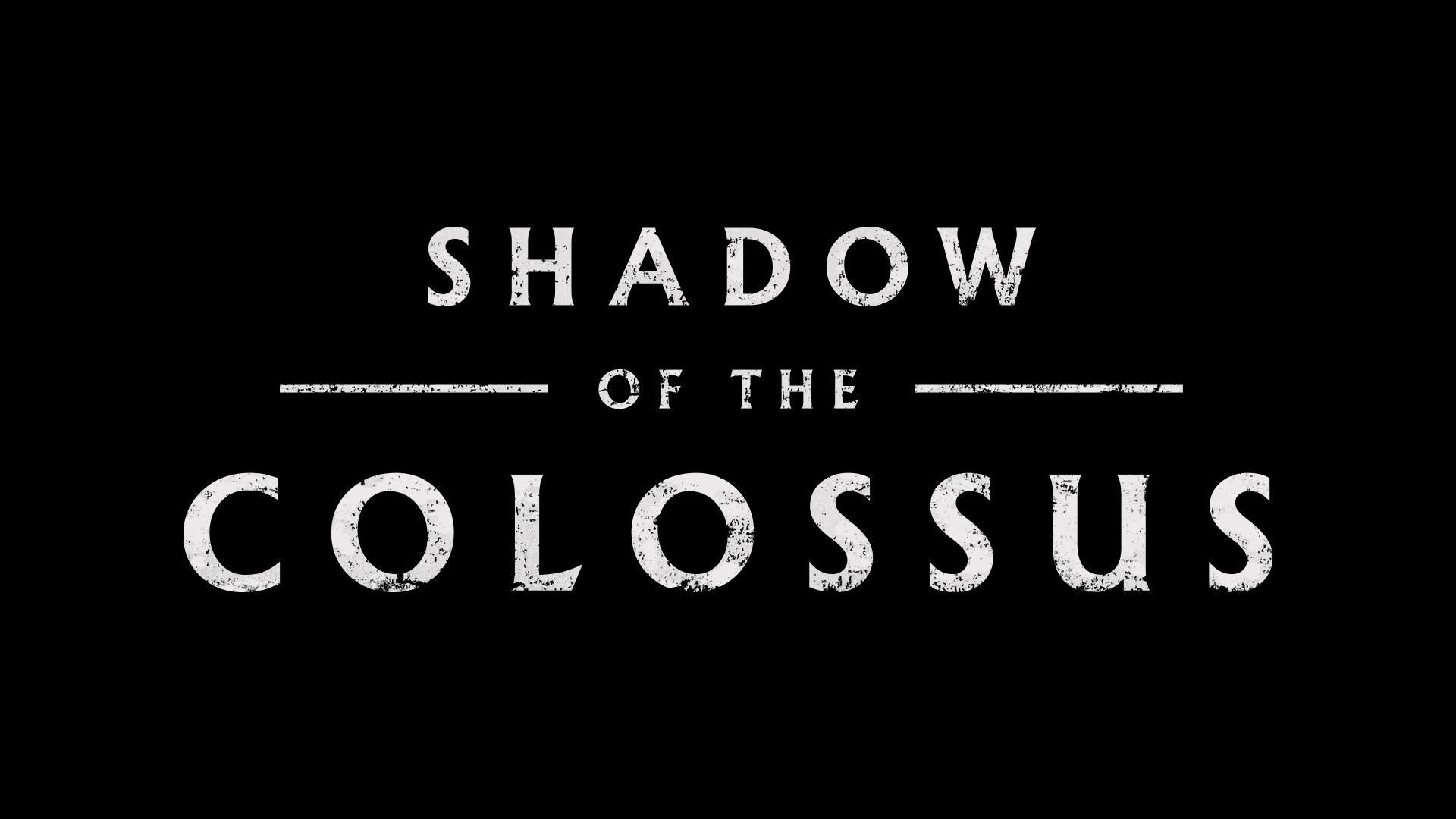 Логотип - Shadow of the Colossus Арт