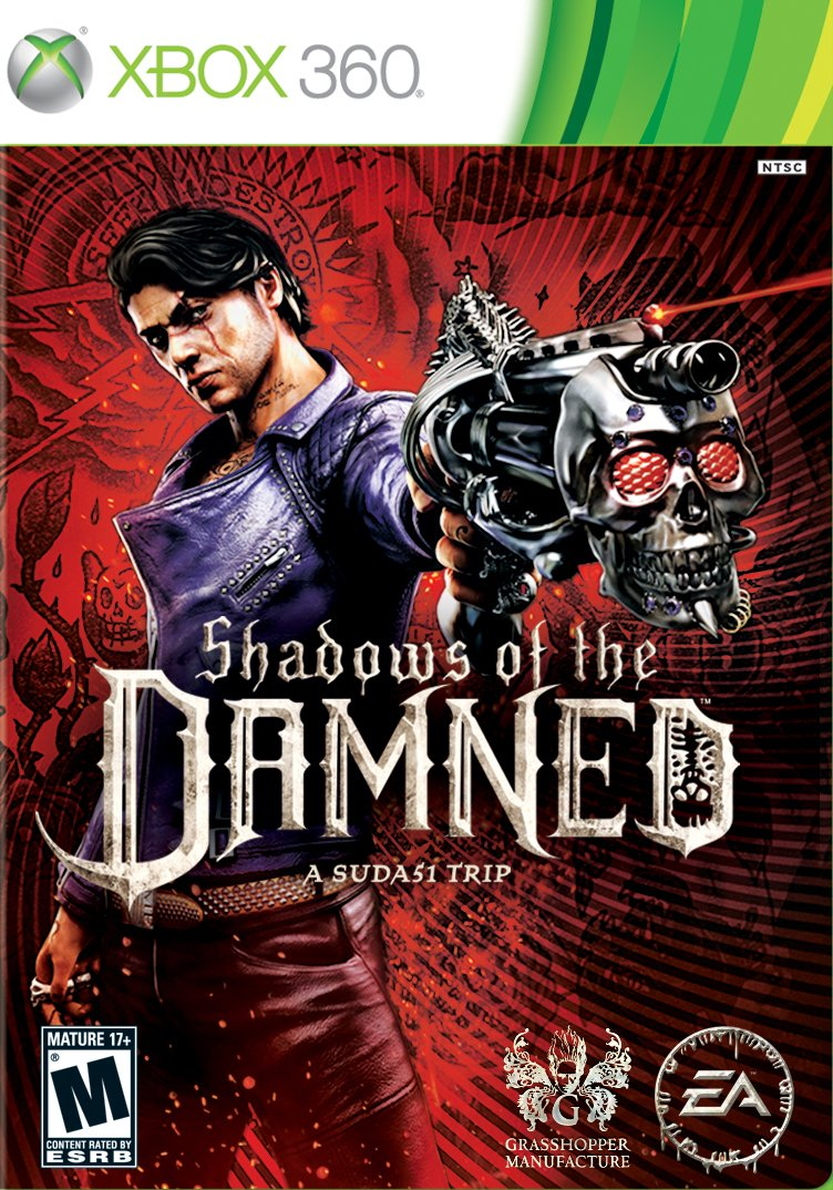 Бокс-арт (Xbox 360) - Shadows of the Damned