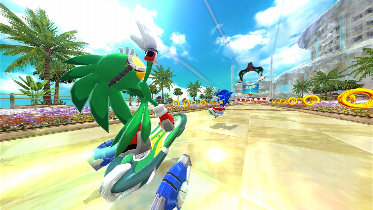 Sonic Free Riders - Sonic Free Riders