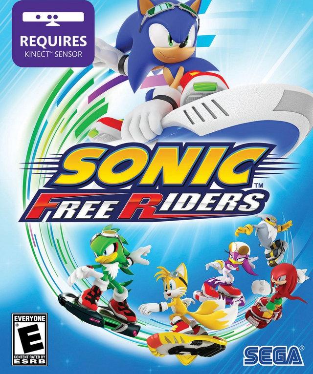 Бокс-арт - Sonic Free Riders