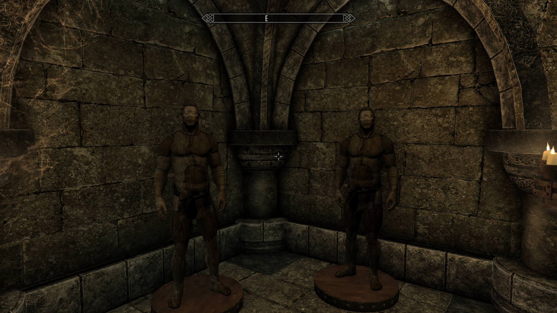 Манекены. Ненавижу манекены - Elder Scrolls 5: Skyrim, the манекен