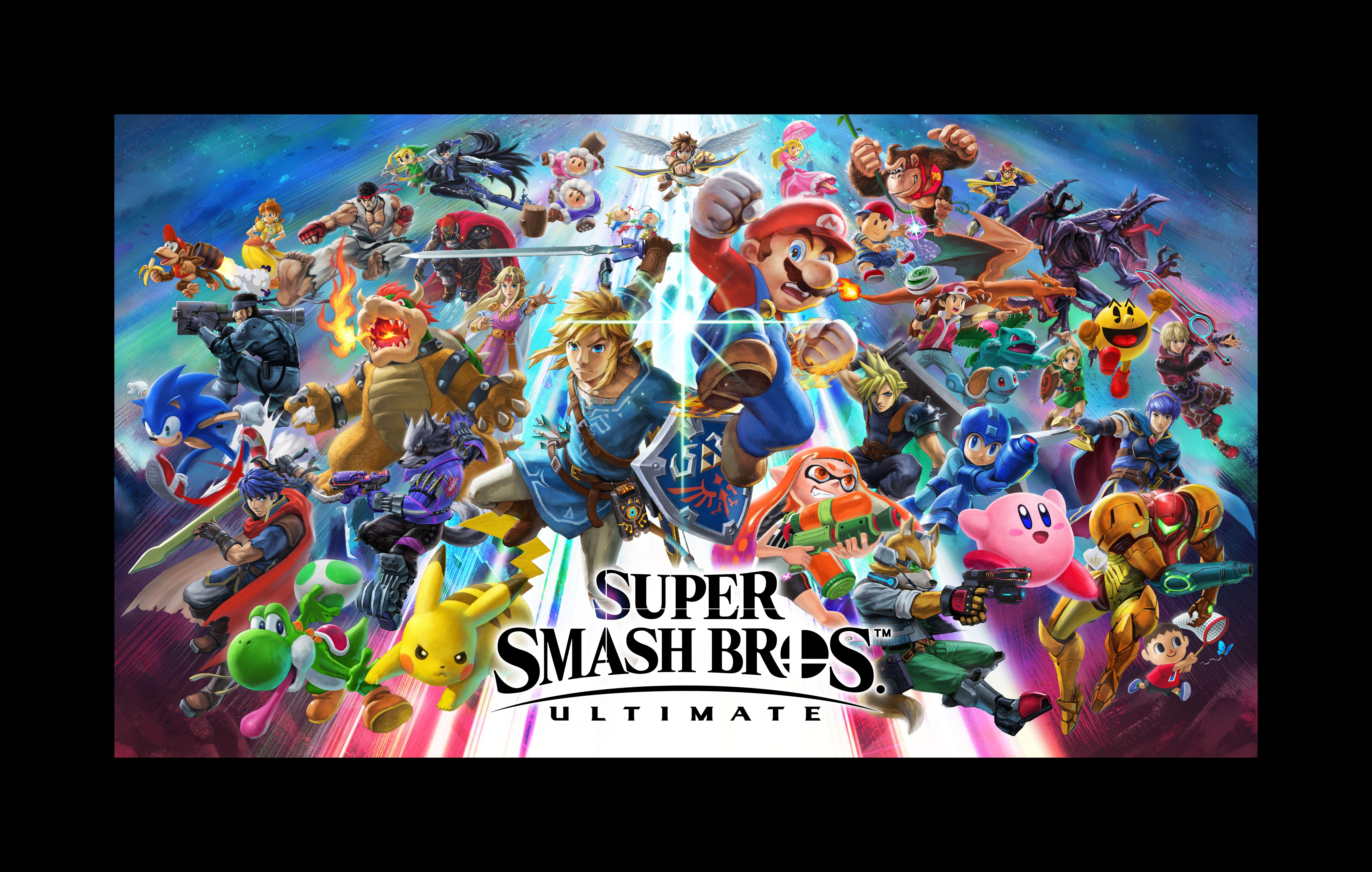 Super Smash Bros: Ultimate - Super Smash Bros. Ultimate 9K, Арт