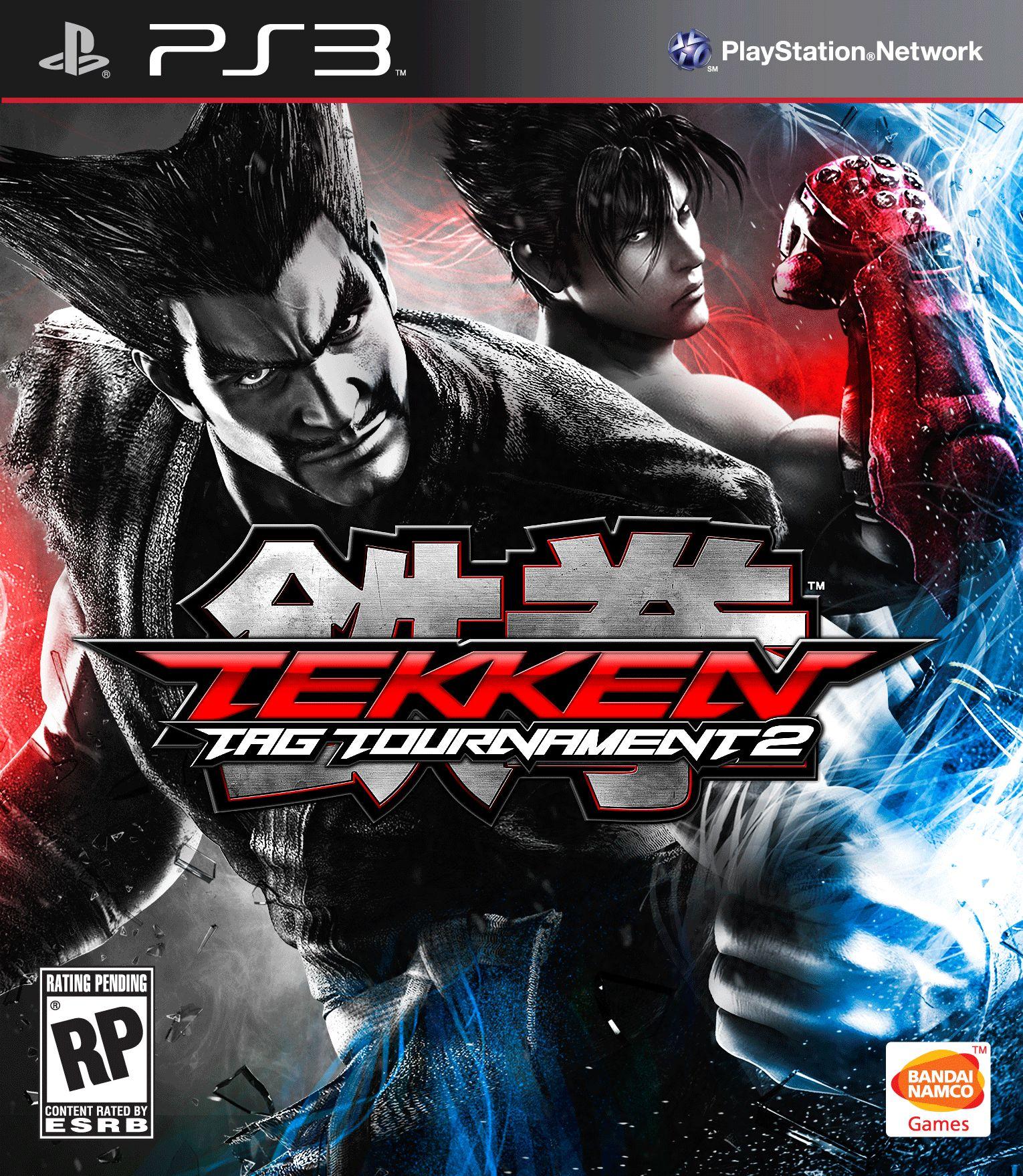Бокс-арт (PS3) - Tekken Tag Tournament 2