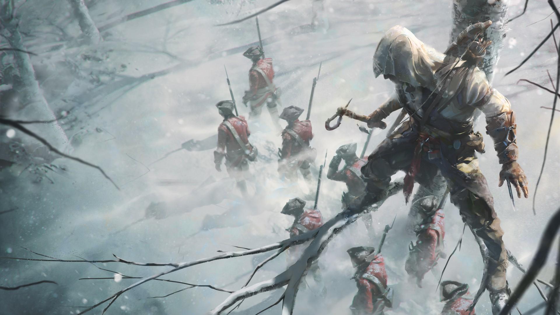 Art - Assassin's Creed 3 Арт