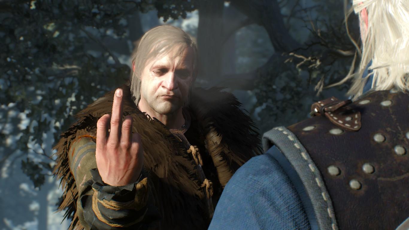 Неуважение - The Witcher 3: Wild Hunt