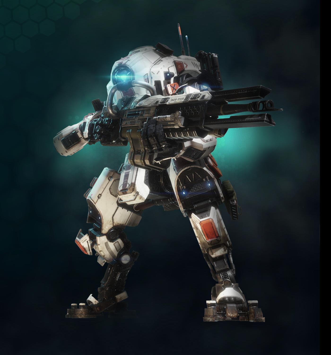 Тон - Titanfall 2 Арт, Титан