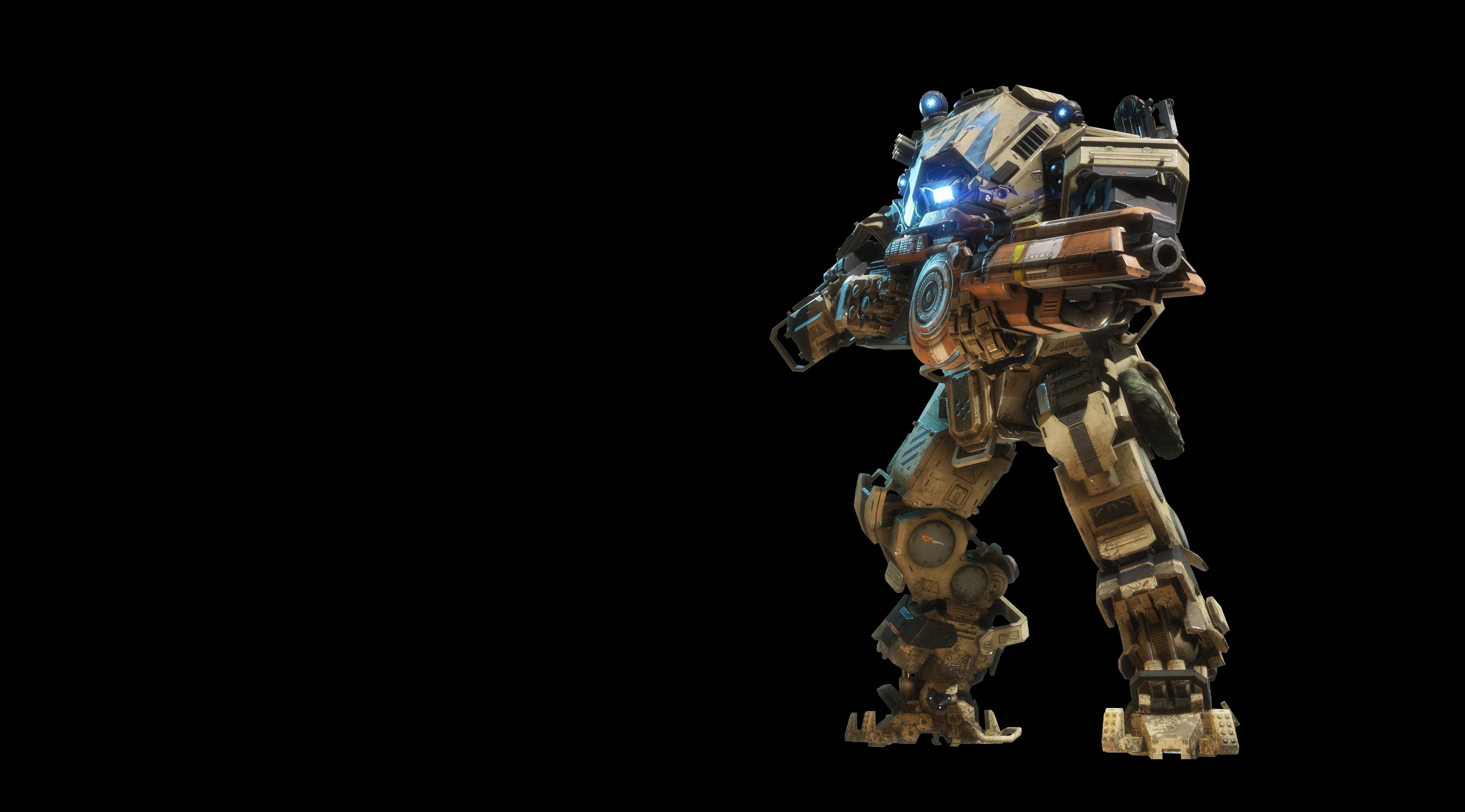 Ион - Titanfall 2 4K, Арт, Титан