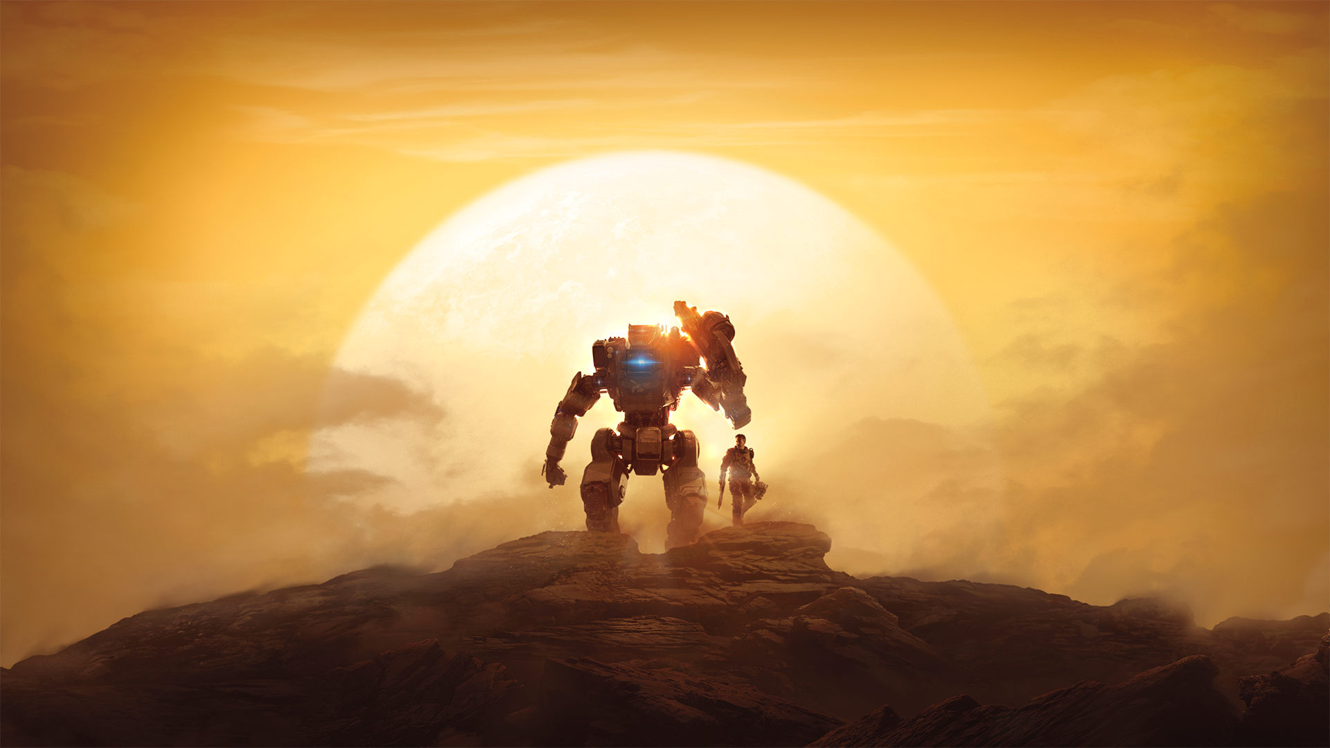 Горизонт - Titanfall 2 Арт