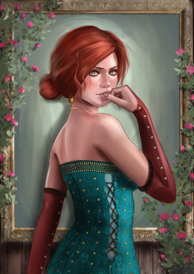 triss_merigold_by_cleverboi-dbipobu.jpg - Witcher 3: Wild Hunt, the