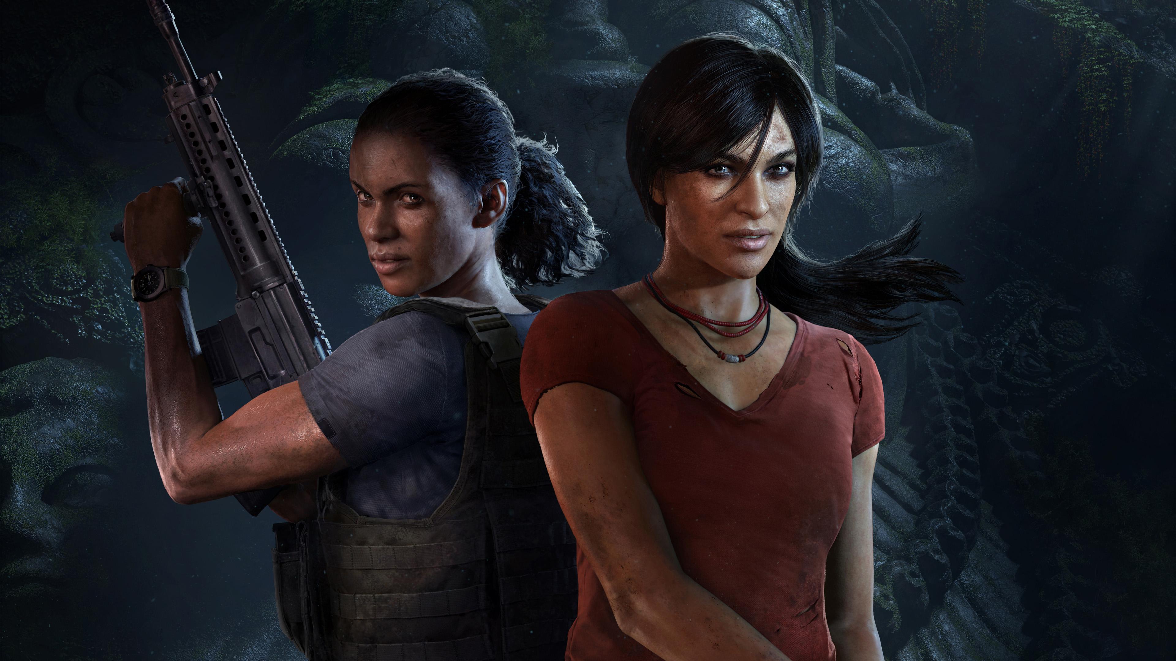 Хлоя и Надин - Uncharted: The Lost Legacy 4K, Арт