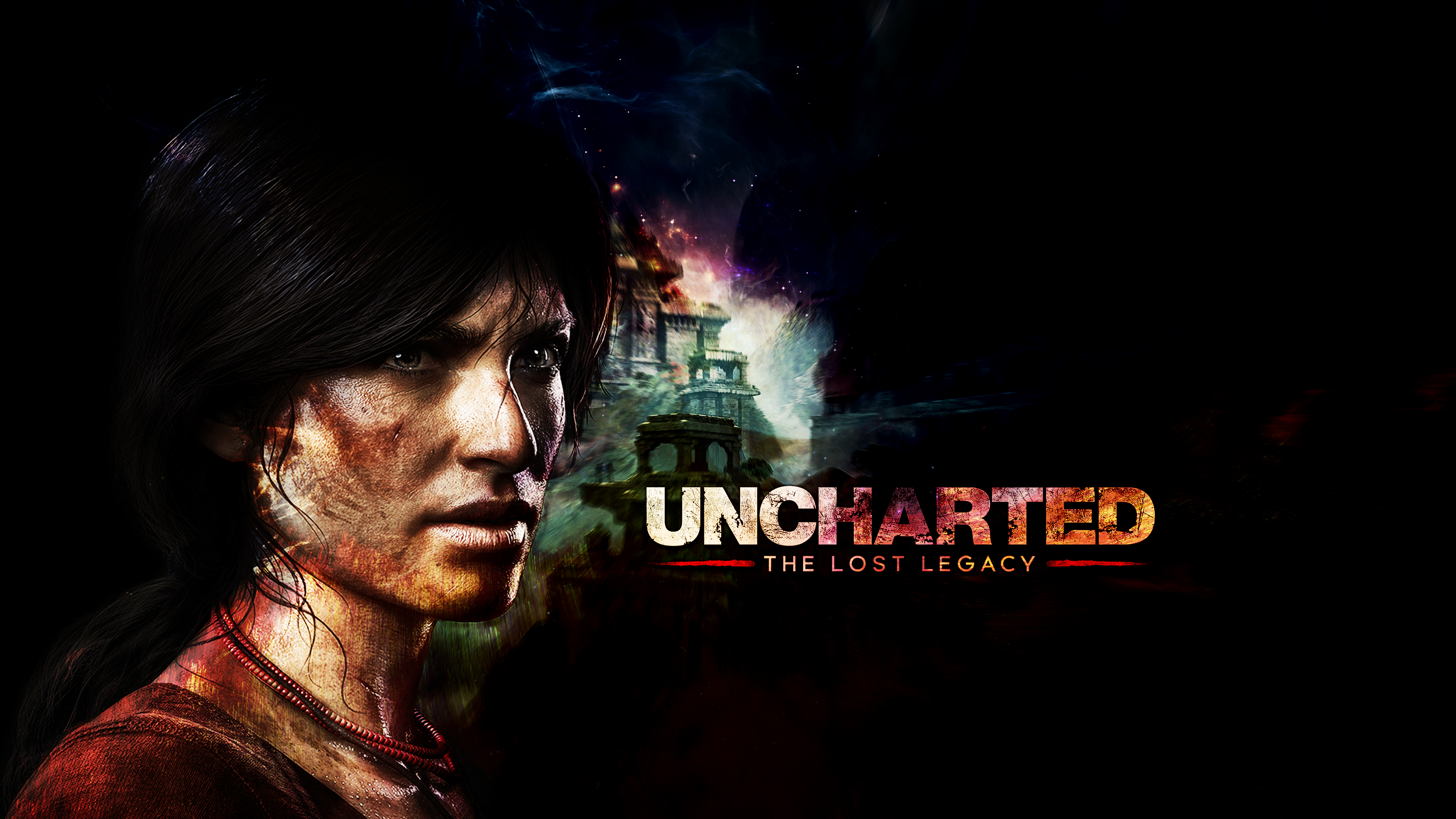 Хлоя - Uncharted: The Lost Legacy 4K, Арт