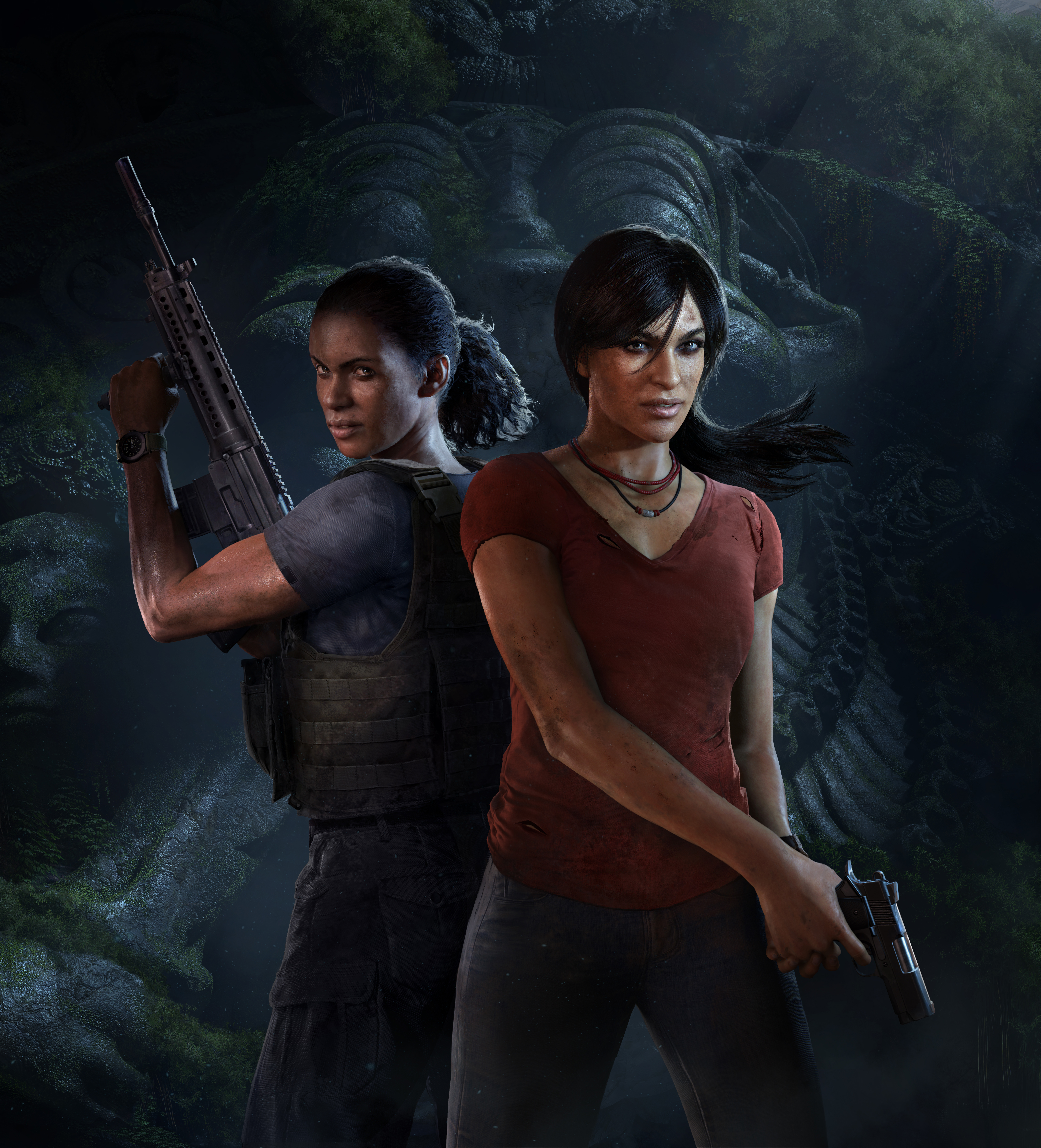 Хлоя и Надин - Uncharted: The Lost Legacy Арт