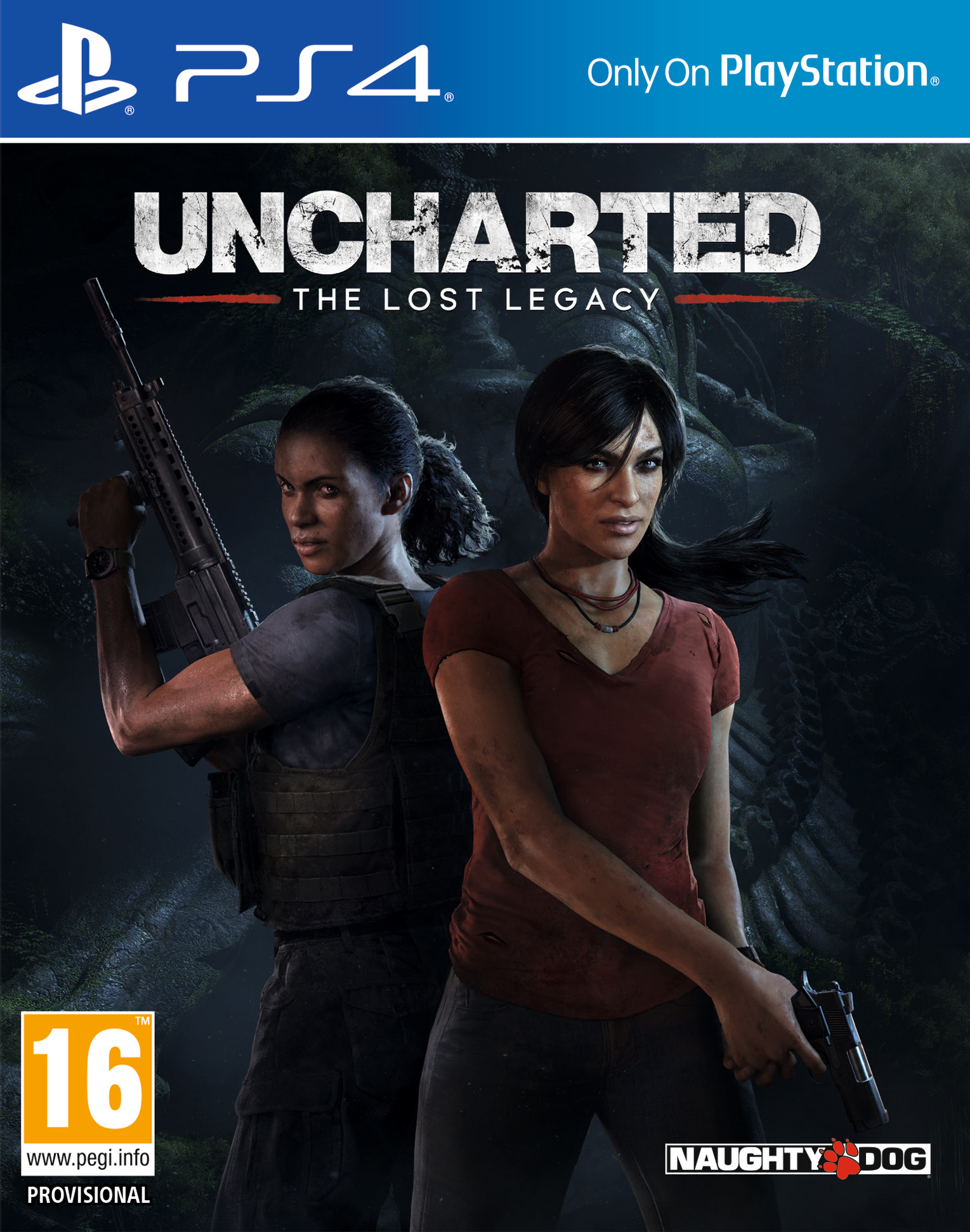 Бокс-арт (PS4) - Uncharted: The Lost Legacy