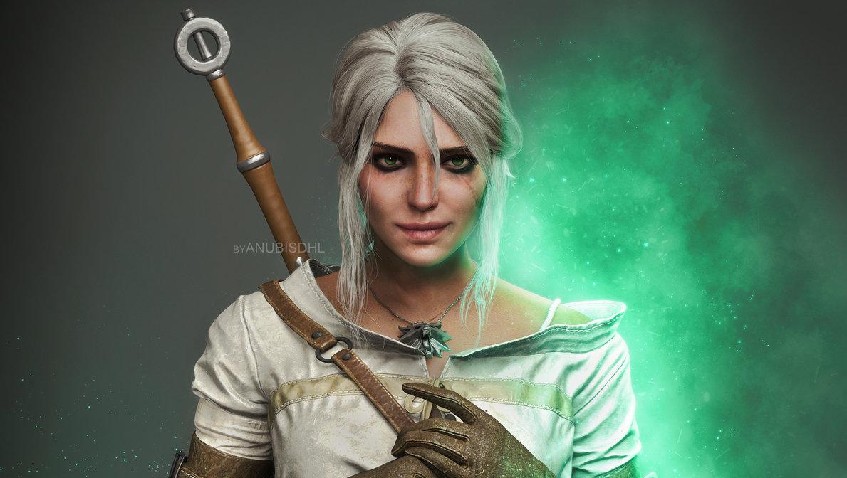 ciri_by_anubisdhl-dcftxo5.jpg - Witcher 3: Wild Hunt, the