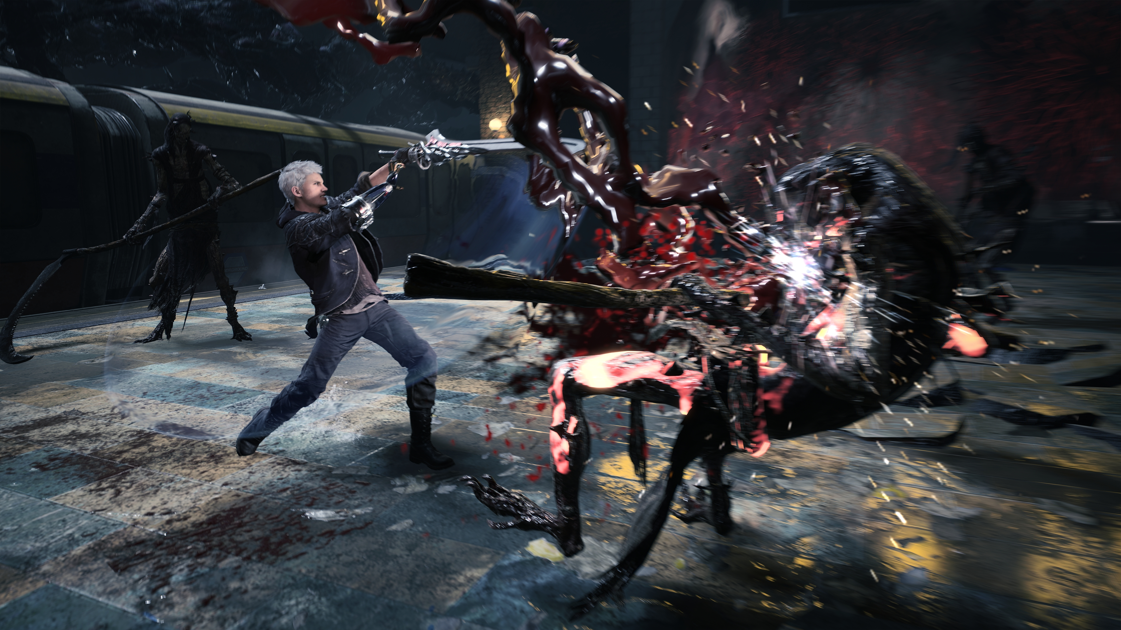 Неро - Devil May Cry 5 4K