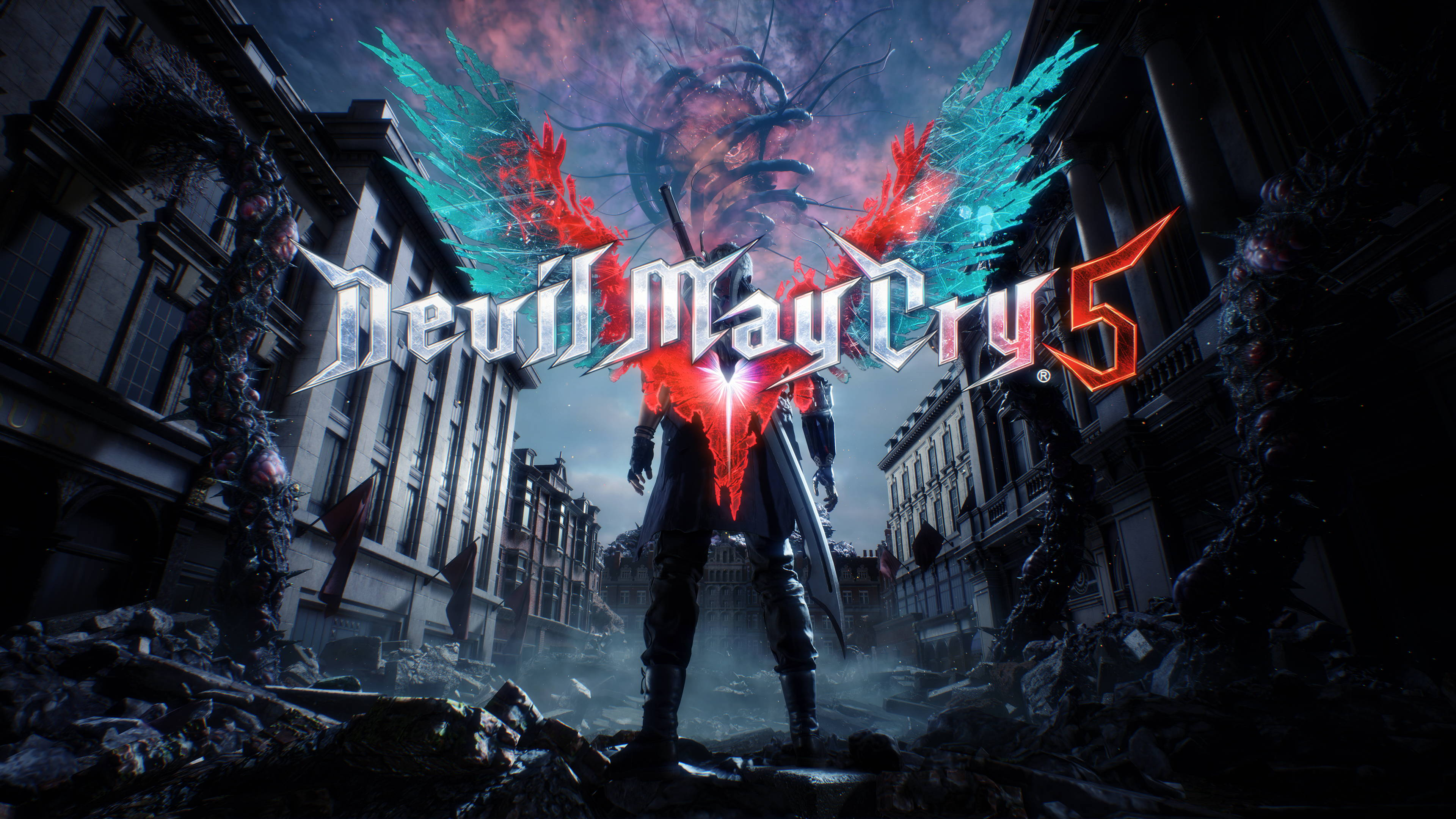 Devil May Cry 5 - Devil May Cry 5 4K, Арт