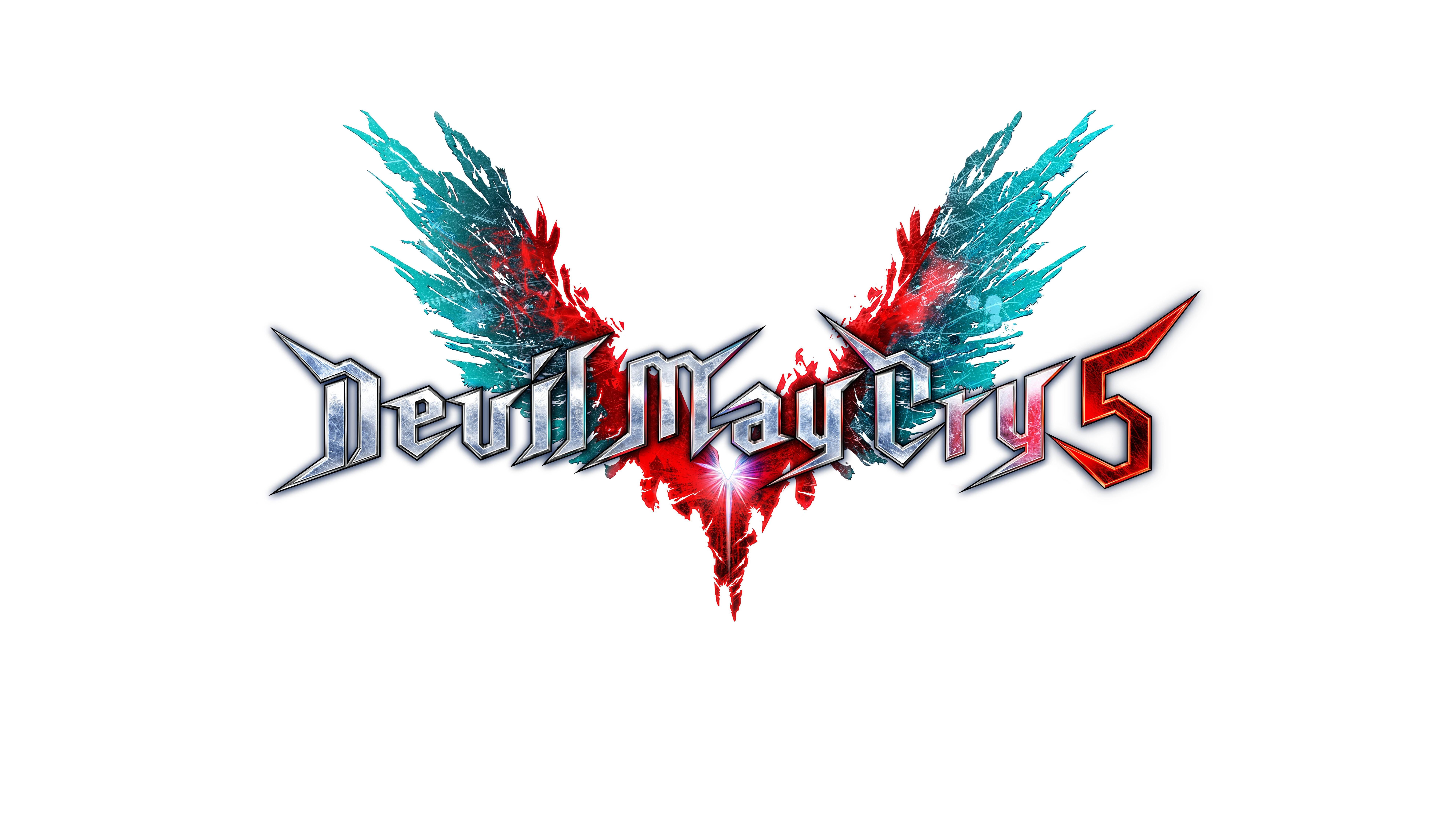 Логотип - Devil May Cry 5 8K, Арт