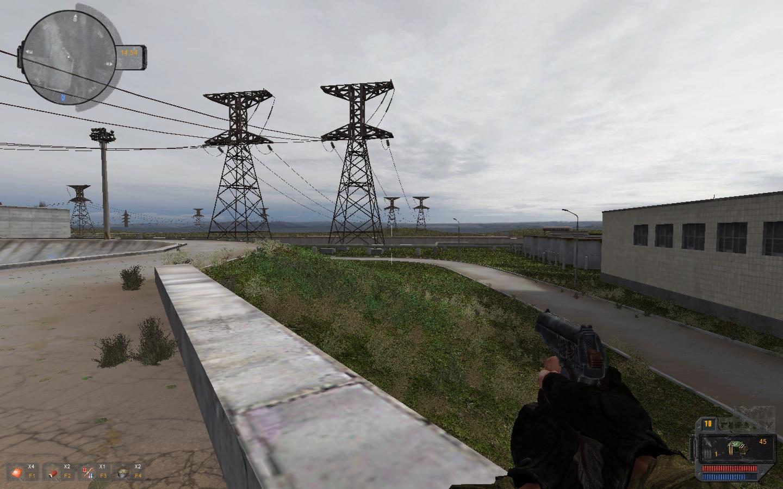 Shwm + atmosfear 3 вид на локации южная сторона ЧАЭС - S.T.A.L.K.E.R.: Call of Pripyat