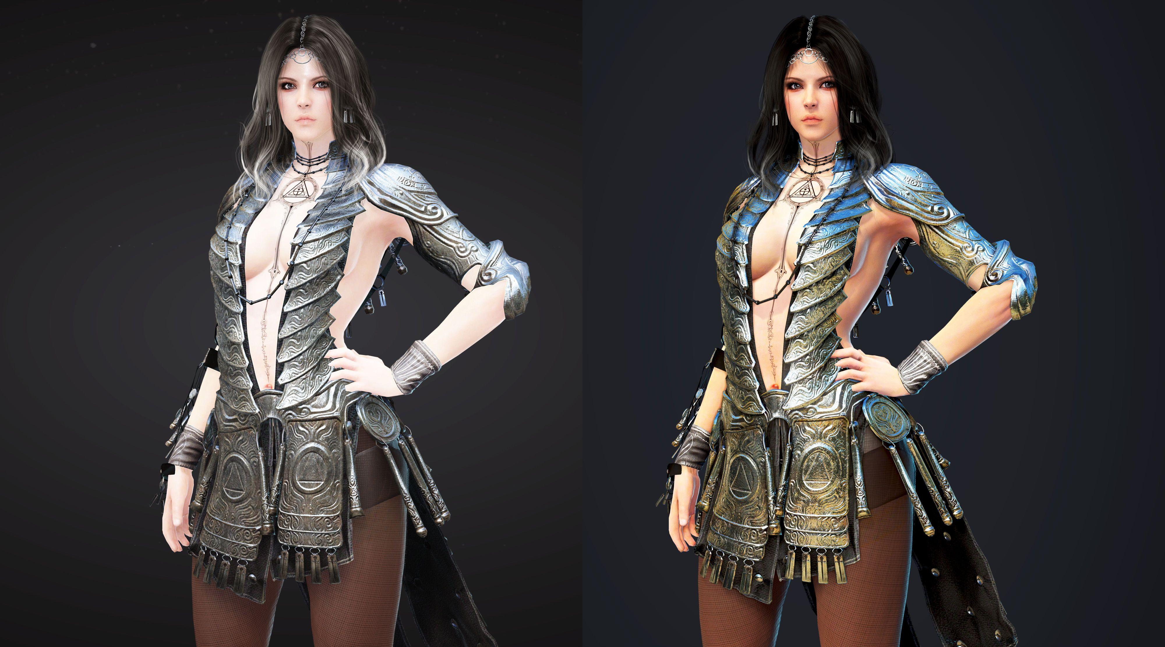 Оригинал vs Ремастер - Black Desert Online 4K