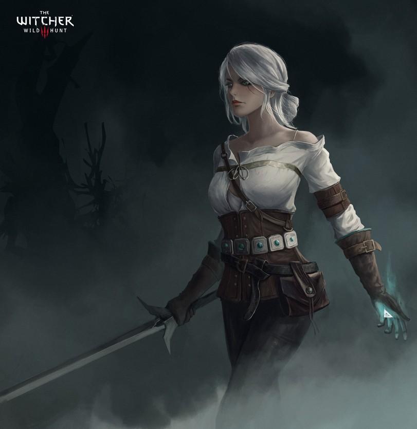 Цири-Witcher-Персонажи-The-Witcher-фэндомы-4639864.jpeg - Witcher 3: Wild Hunt, the