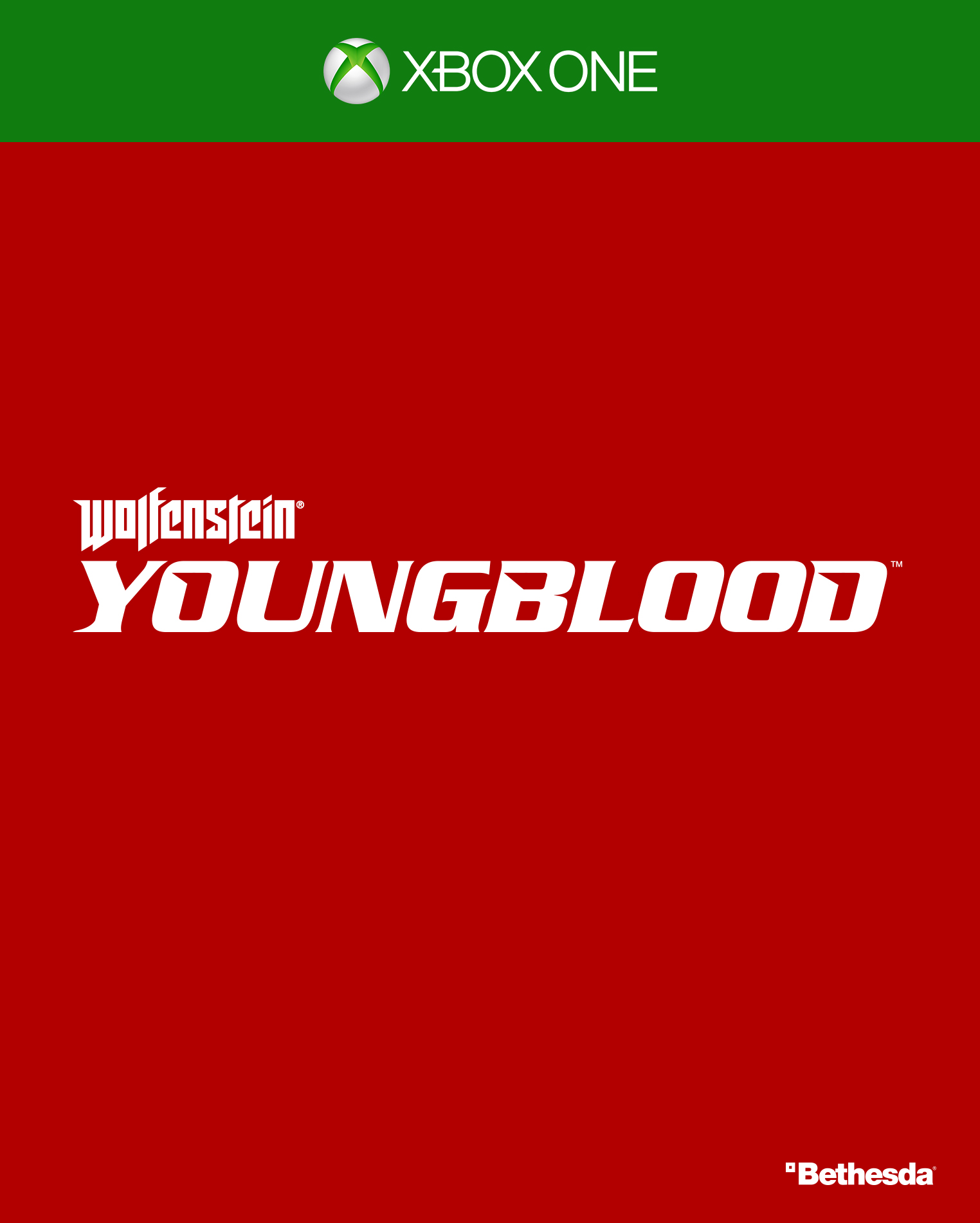 Бокс-арт (Xbox One) - Wolfenstein: Youngblood