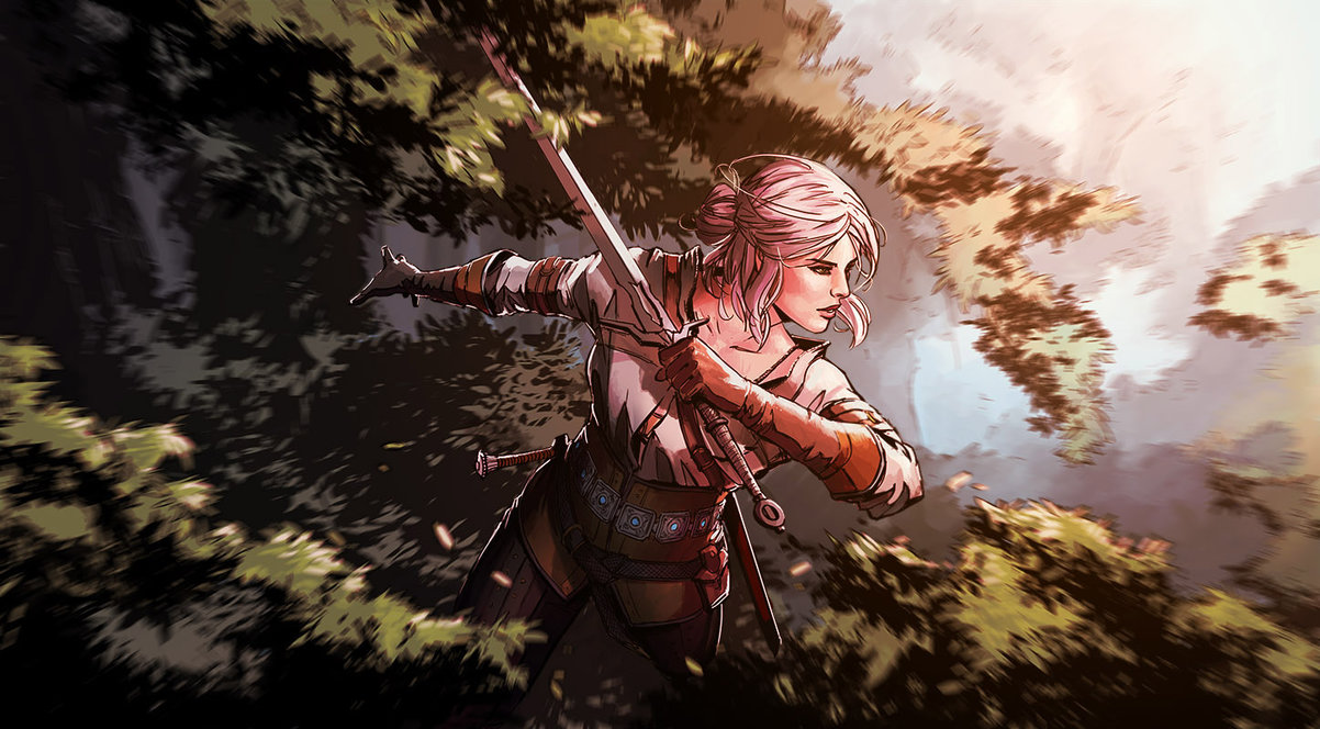 cirilla_fiona_elen_riannon_by_yamaorce-d984eda.jpg - Witcher 3: Wild Hunt, the