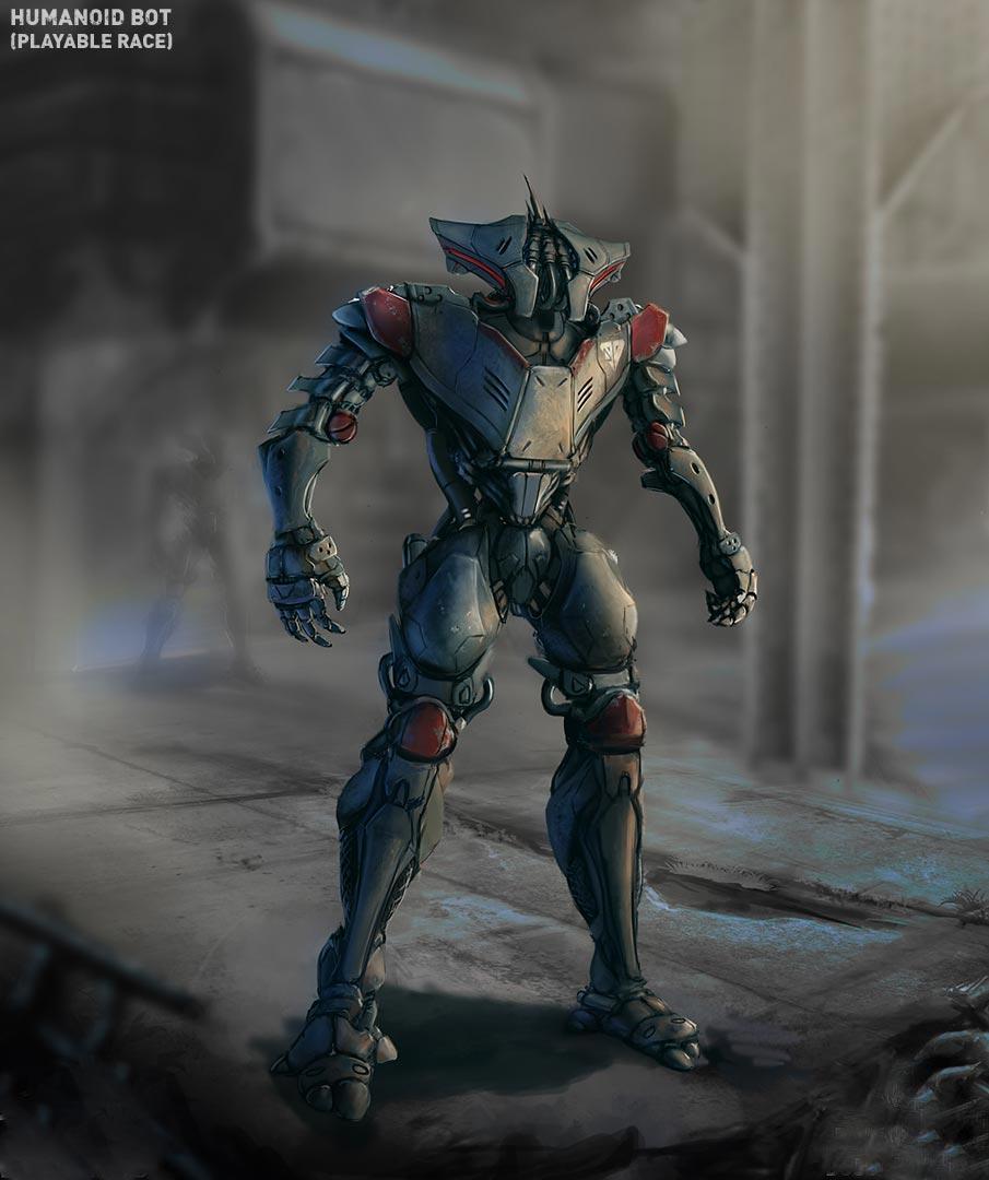 Робот - Dustwind Арт