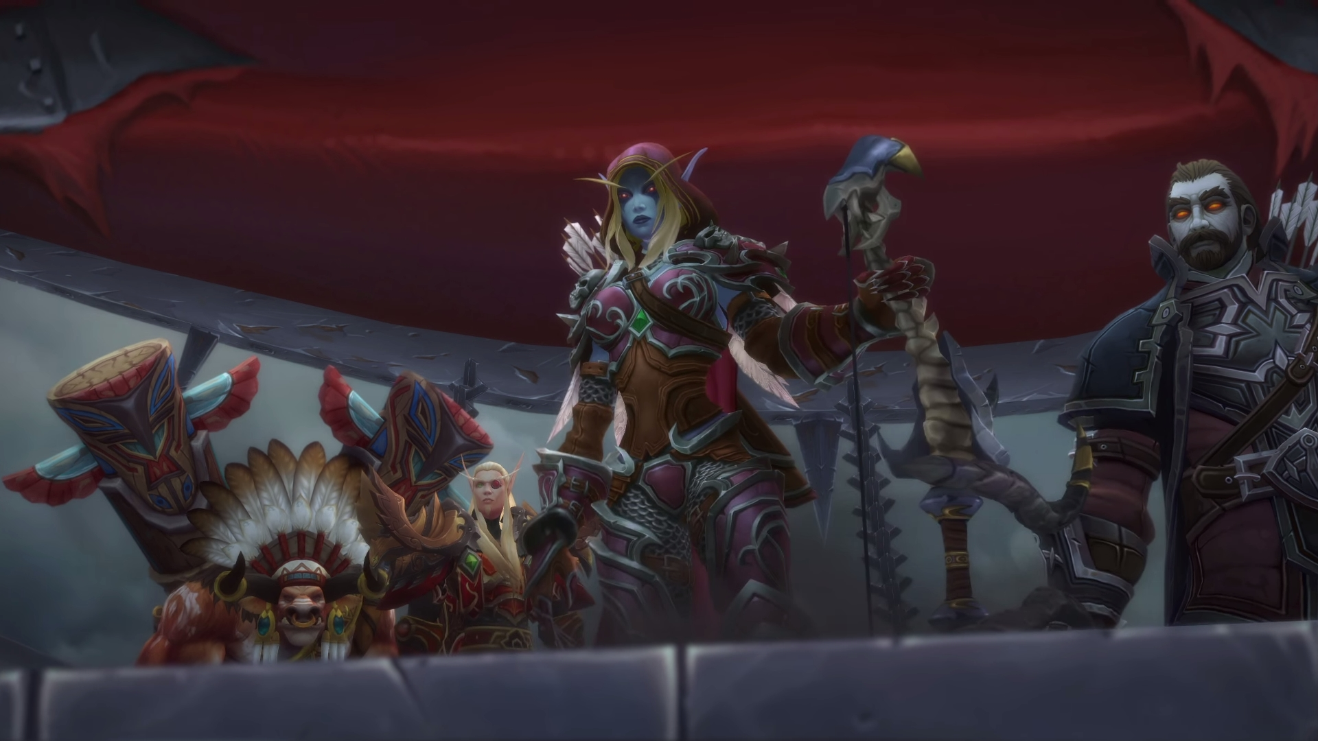 World of Warcraft: Battle for Azeroth - Скриншоты - World of Warcraft Орда