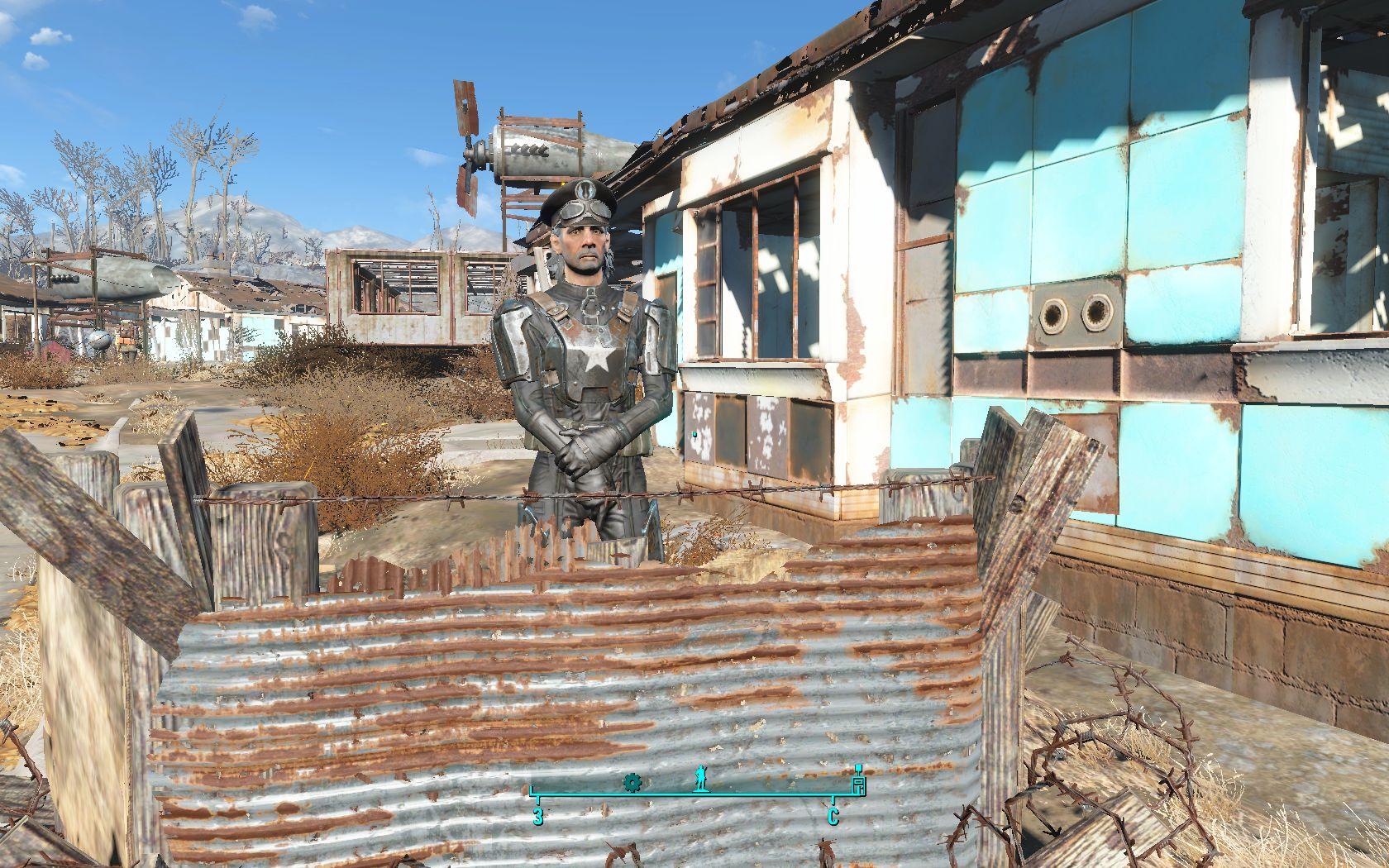 Паладин из бомжа - Fallout 4