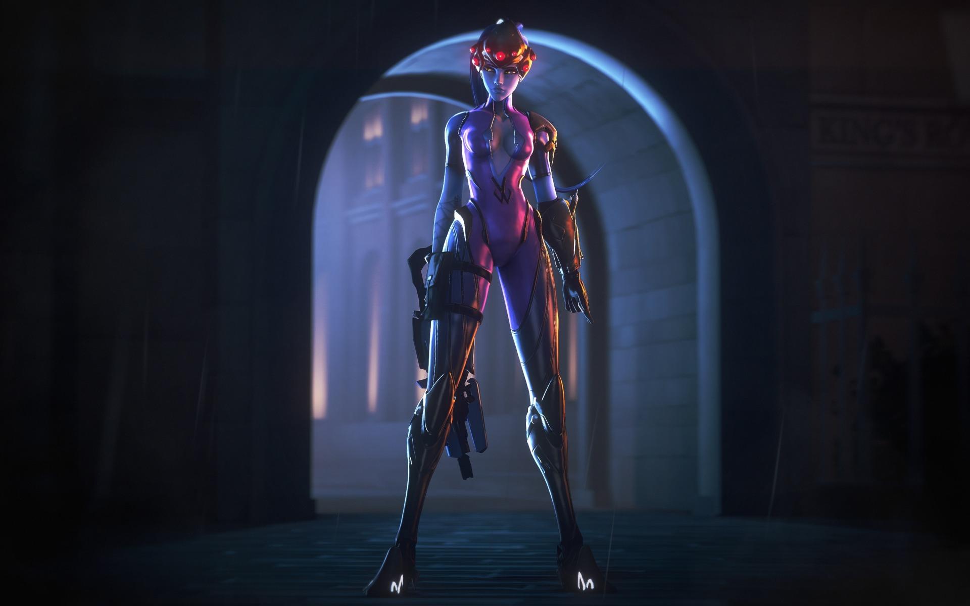 Widowmaker - Overwatch Арт