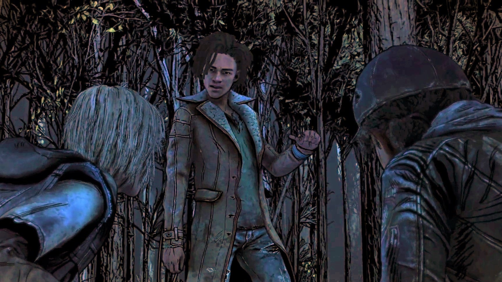 Клементина - Walking Dead: The Final Season, the Зомби, Луис