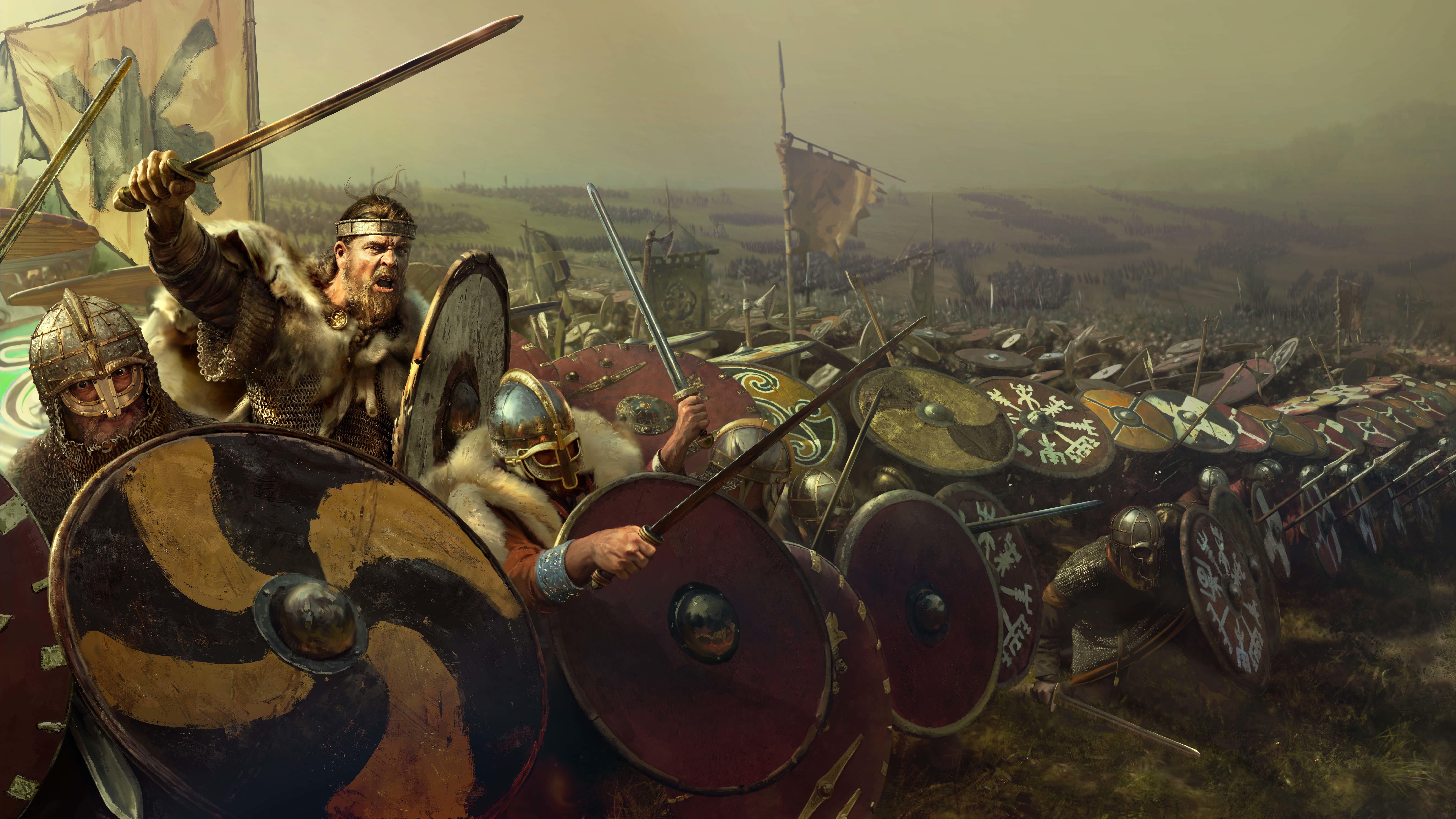 Total War Saga: Thrones of Britannia - Total War Saga: Thrones of Britannia 9K, Арт
