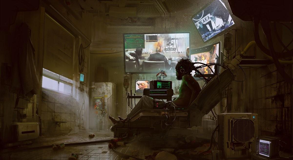 Новые концепт-арты - Cyberpunk 2077