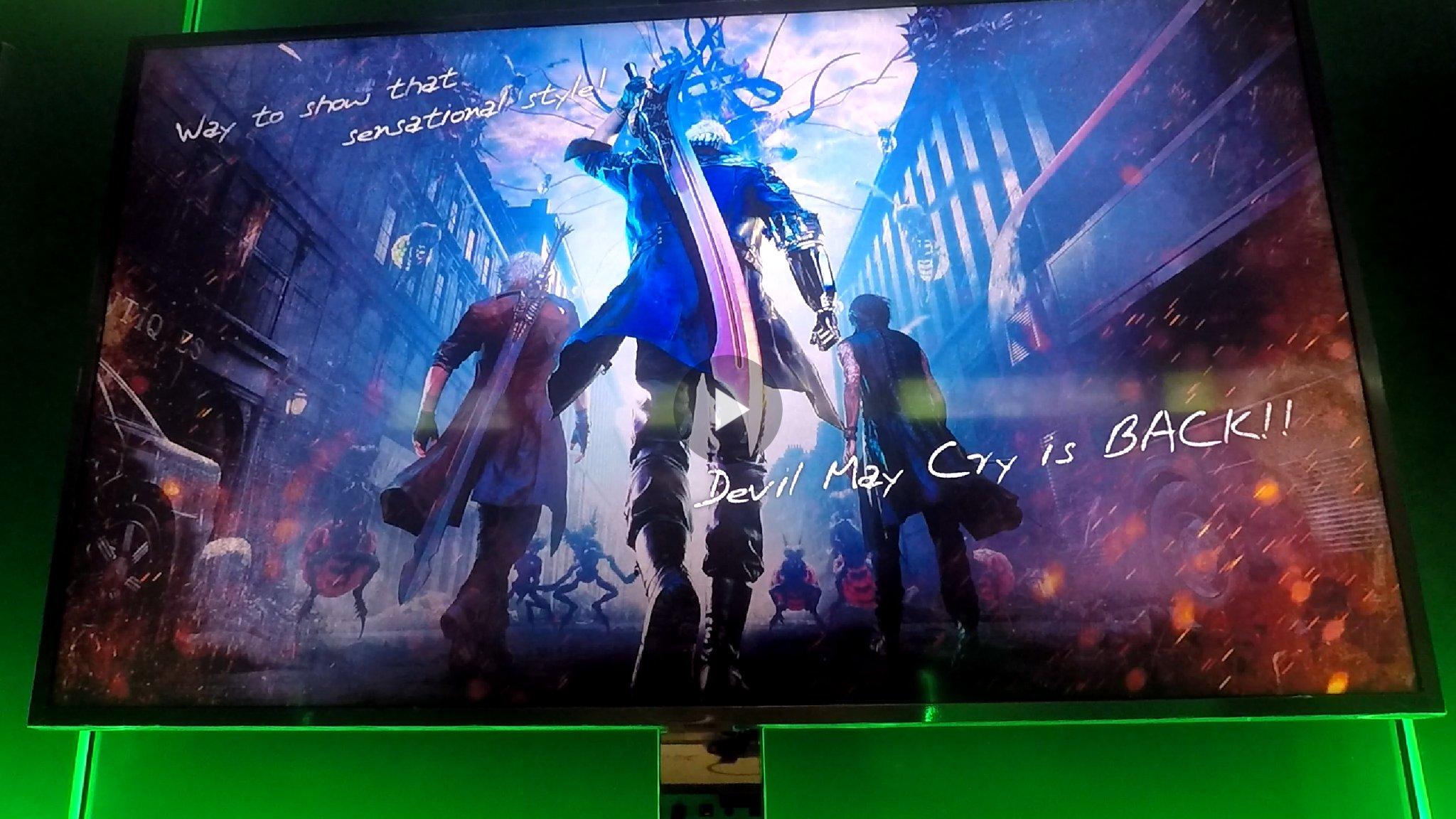 Арт демо-версии игры при получении S ранга - Devil May Cry 5
