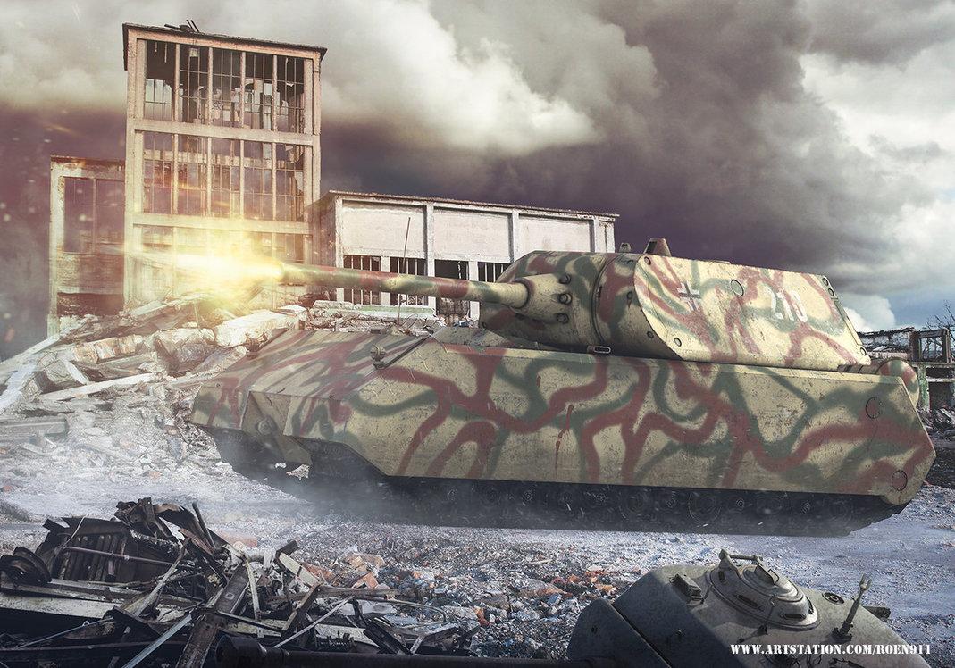 panzer_viii_maus_by_roen911-dceu21d.jpg - War Thunder