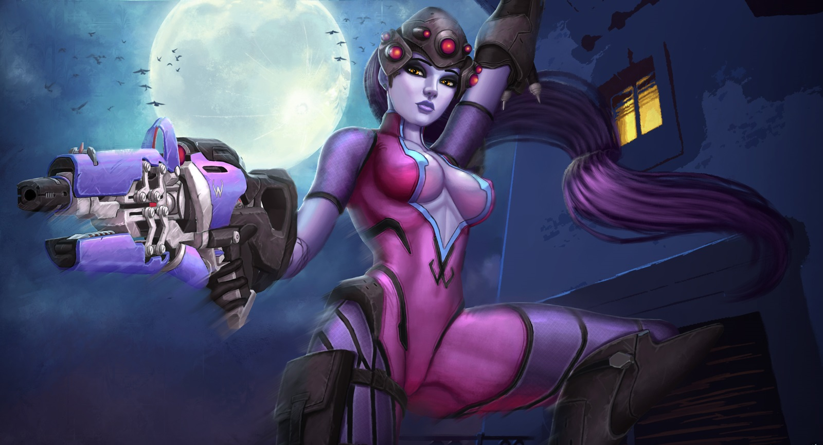 Widowmaker - Overwatch Арт