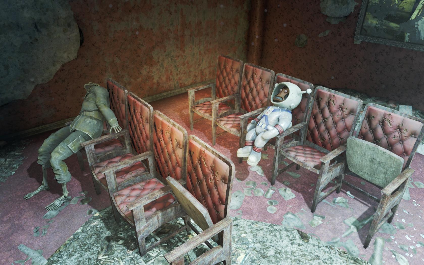 Театр Уоррена 2 - Fallout 4 Юмор
