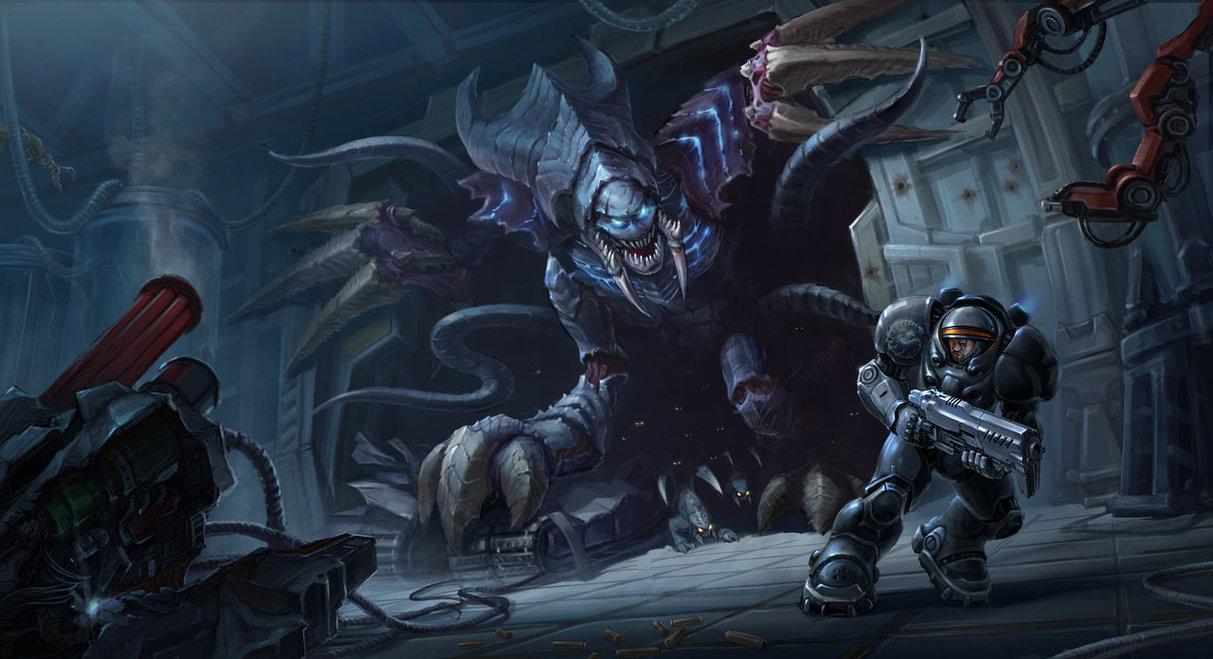 starcraft_2_fan_art_by_aem_88-d8vg23r.jpg - StarCraft 2: Wings of Liberty
