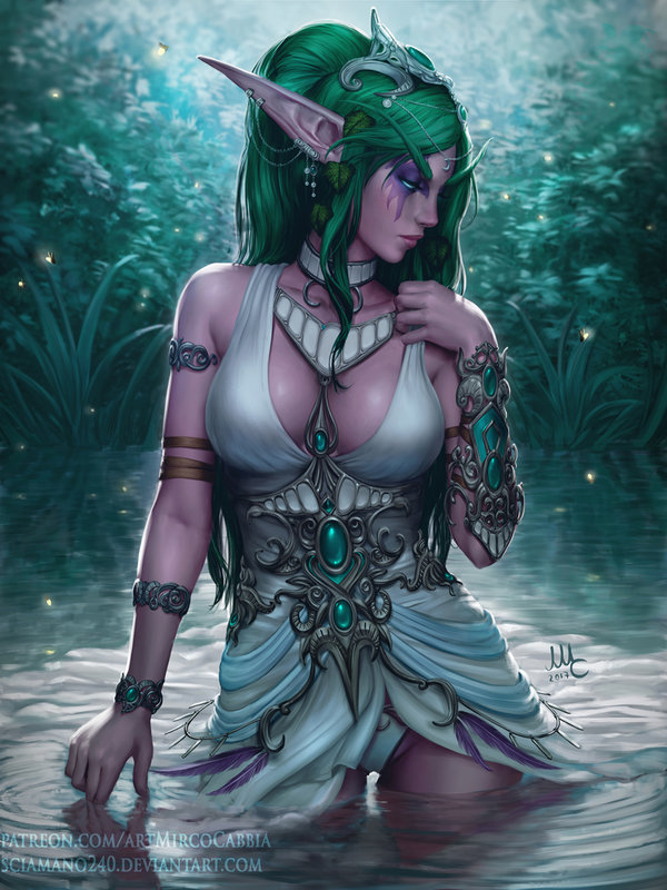 tyrande___wow__2v__by_sciamano240-dbjozec.jpg - World of Warcraft